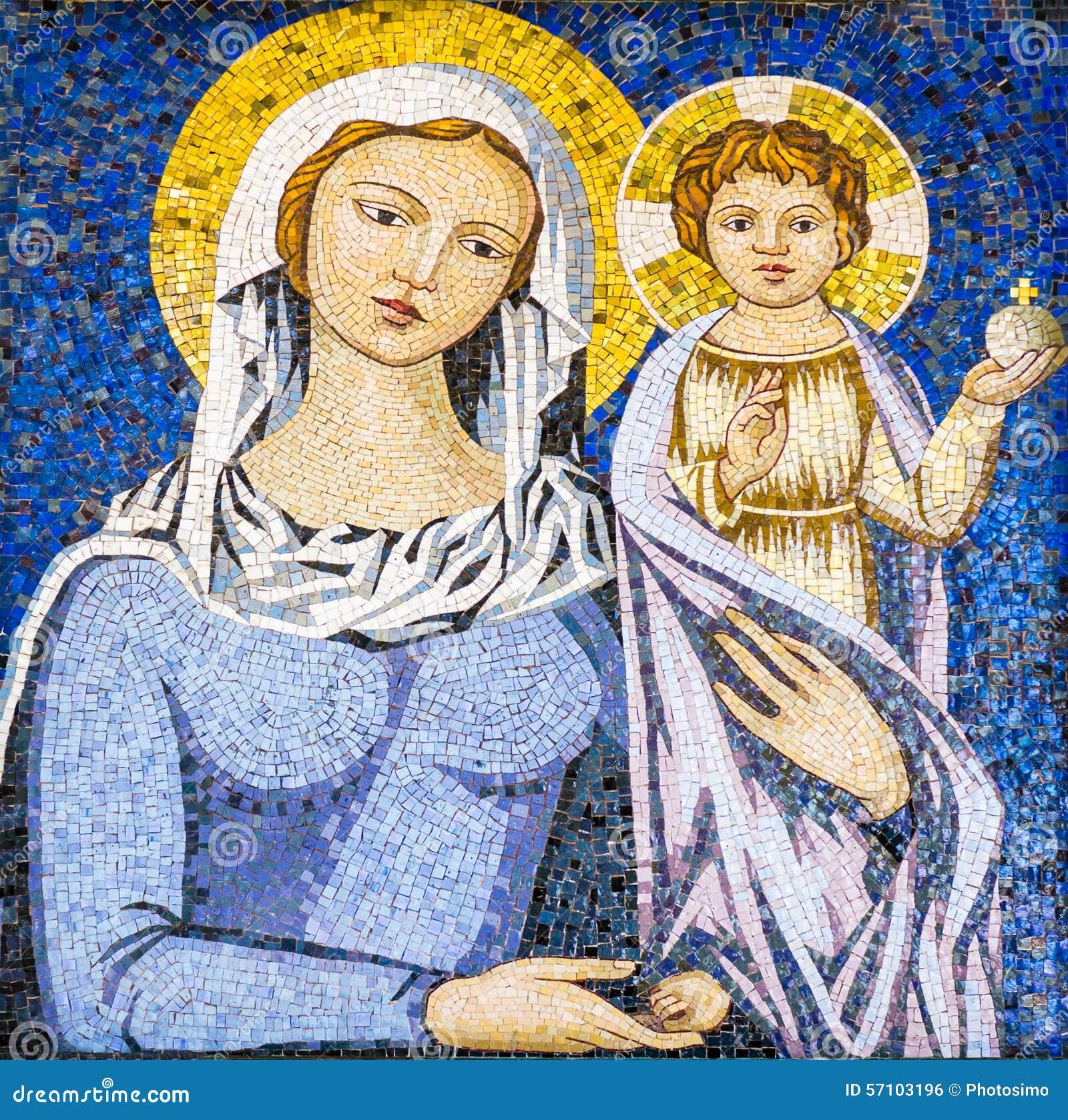 aventurada Virgem Maria, jesus Cristo, bencao, Cristianismo ...