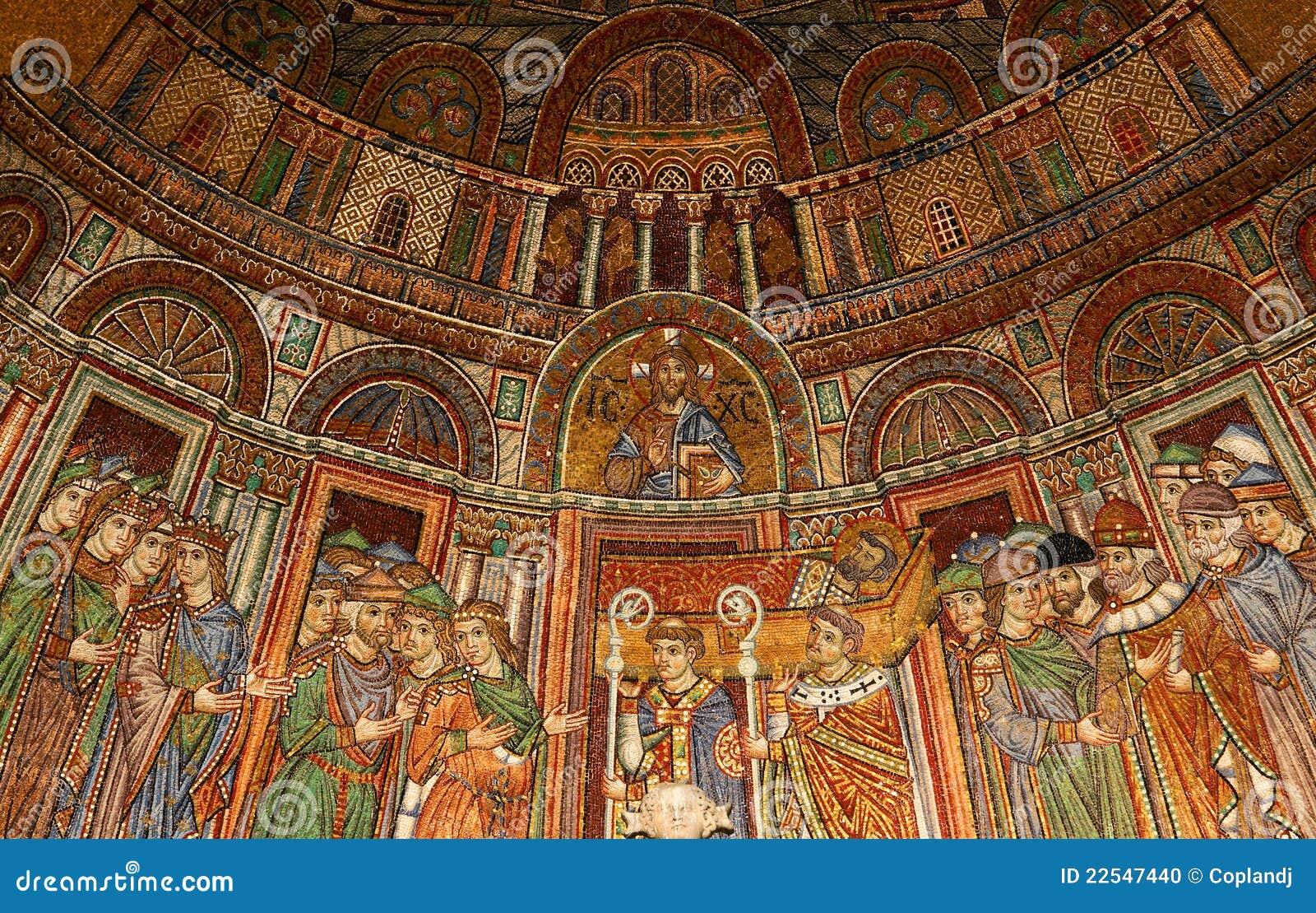 Mosaico De La Basílica De San Marcos Foto de archivo - Imagen de ...