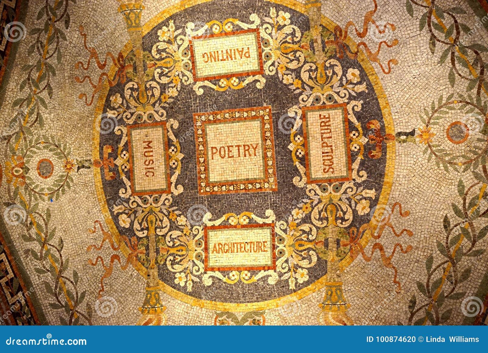 Mosaico de los artes