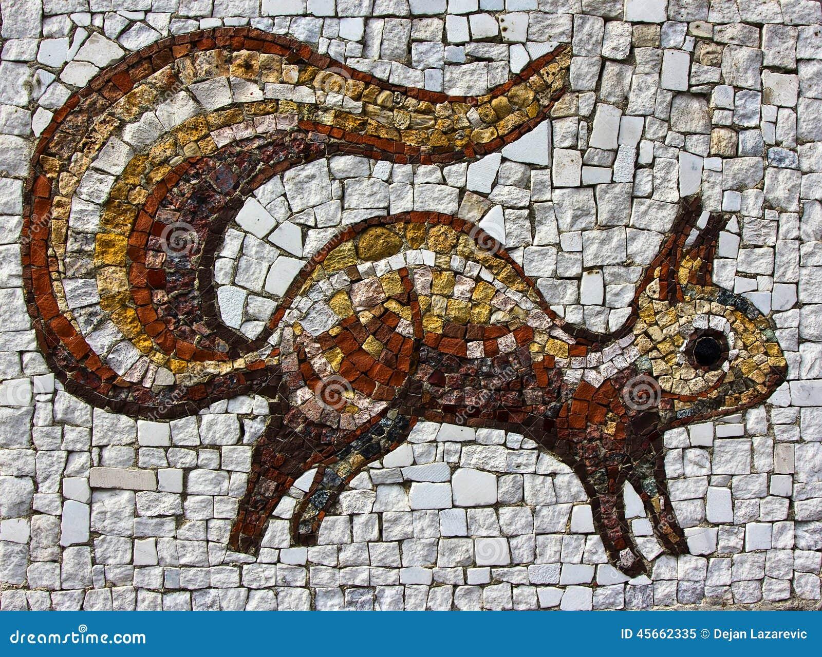 Mosaico do esquilo