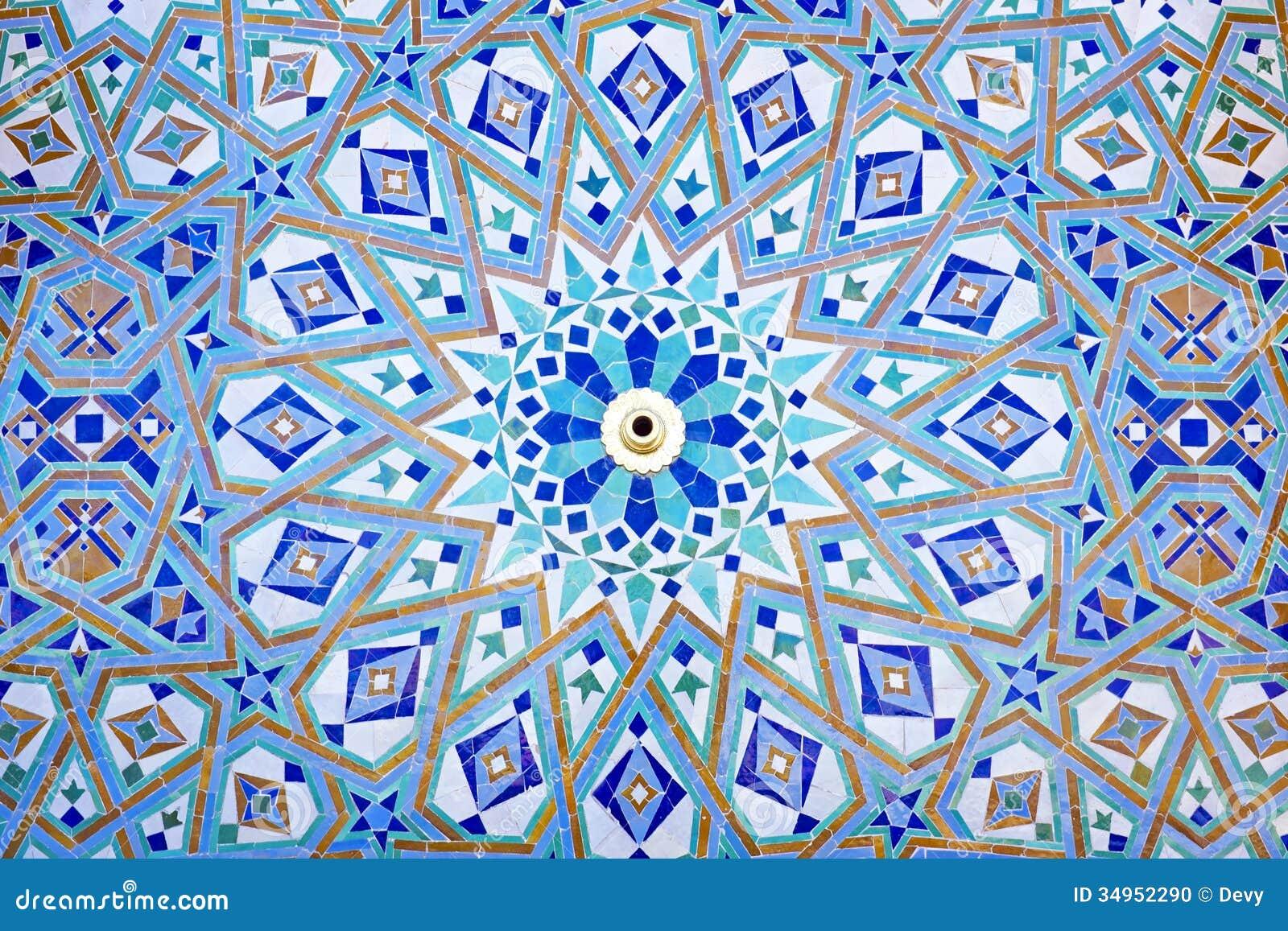 Mosaico oriental en marruecos foto de archivo imagen for Mosaico marroqui