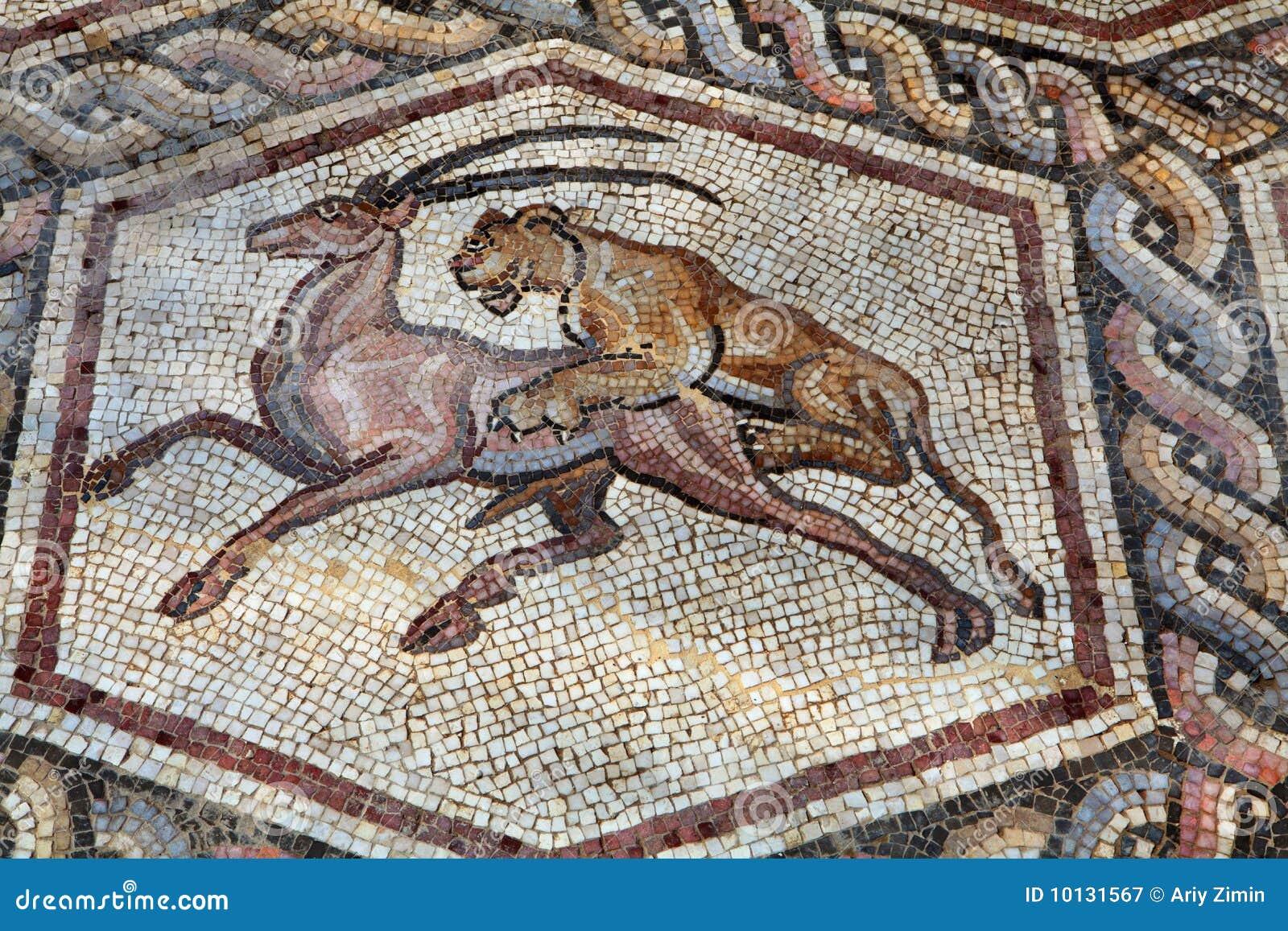 Mosaico romano fotografia de stock royalty free imagem for Mosaico romano