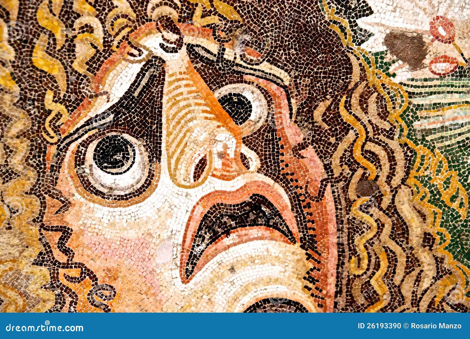 Mosaico romano antico fotografia stock immagine 26193390 for Mosaico romano