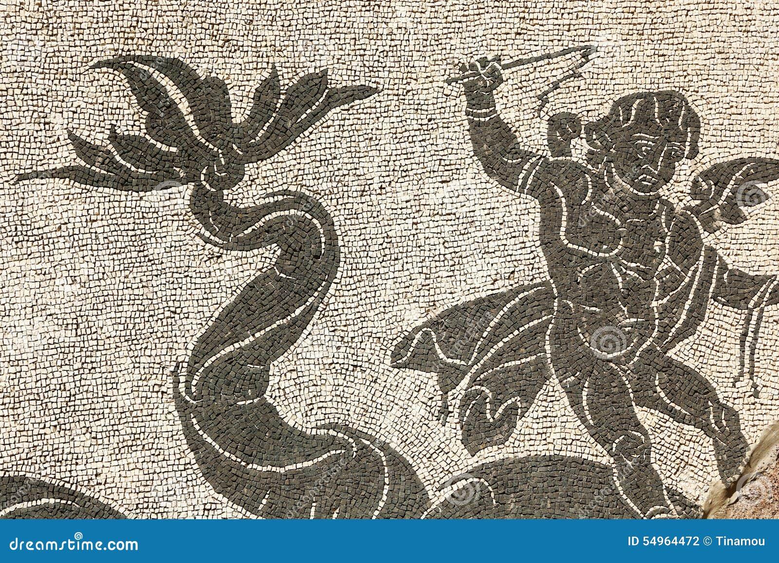Matrimonio Romano Antico : Mosaico romano antico a roma fotografia stock immagine