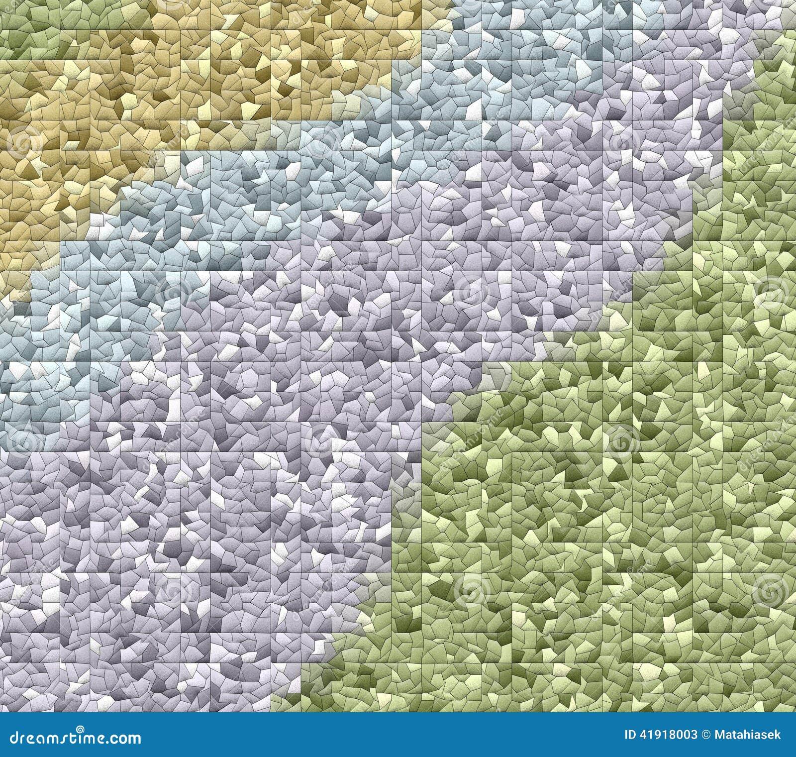Mosaico tejado lindo fondo-coloreado