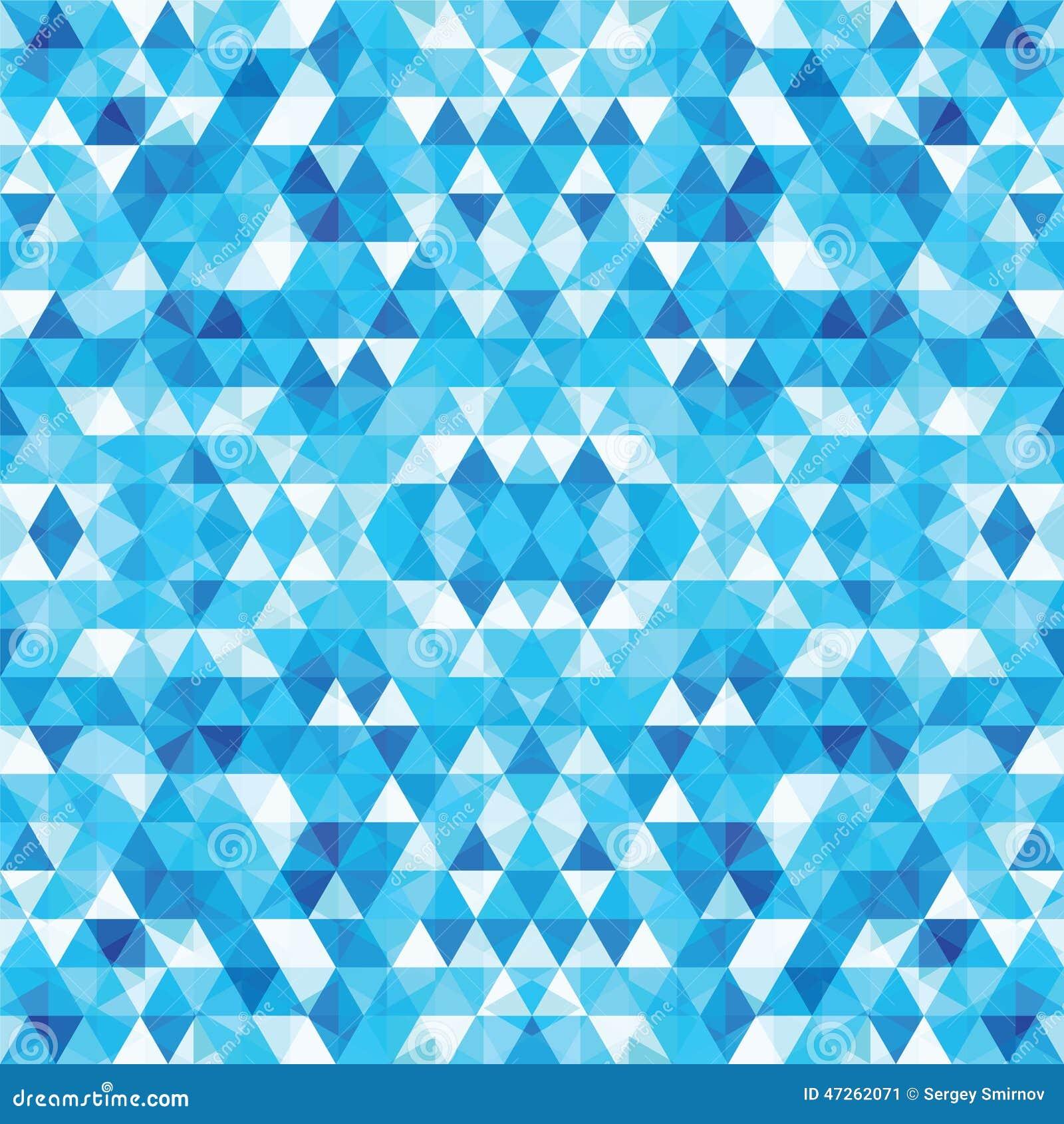 Mosaico triangular BackgroundΠcolorido