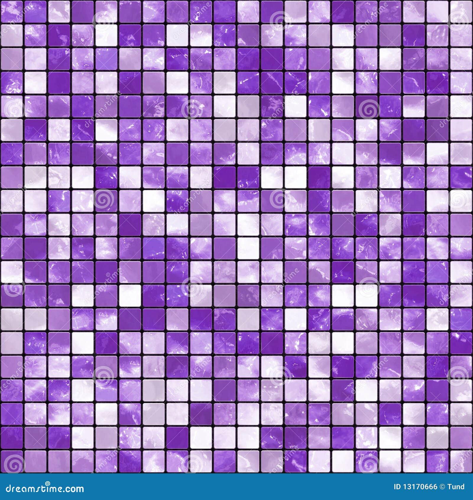 Piastrelle Bagno Mosaico Viola mosaico viola illustrazione di stock. illustrazione di bagno