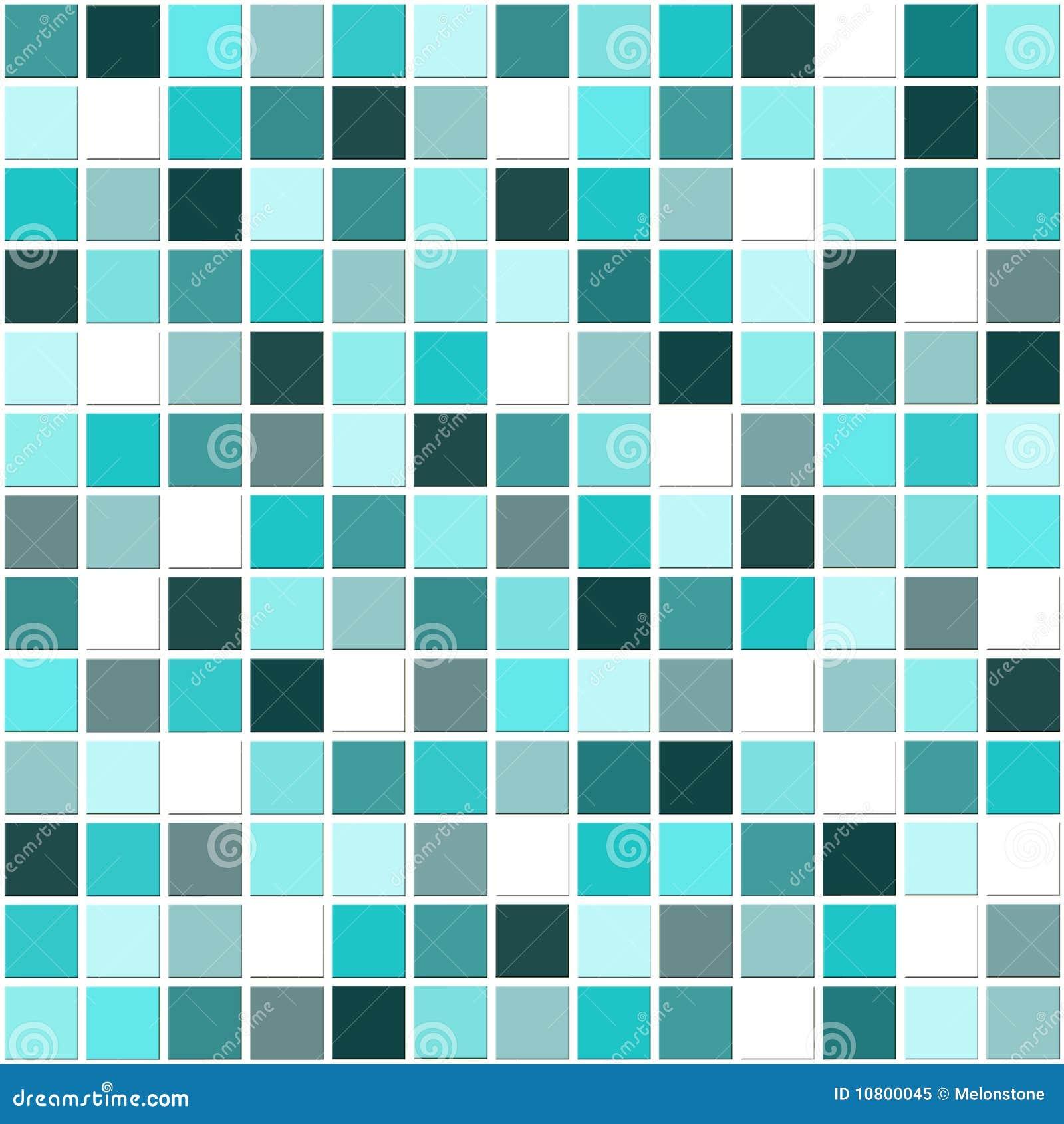 Download Mosaik Blau Stock Abbildung. Illustration Von Dekor, Badezimmer    10800045