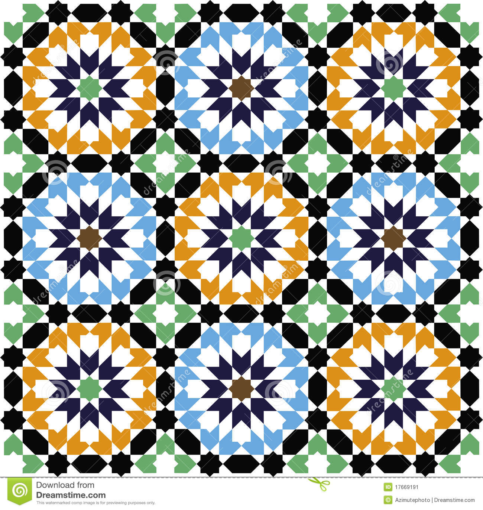 mosaikmuster - Mosaik Muster