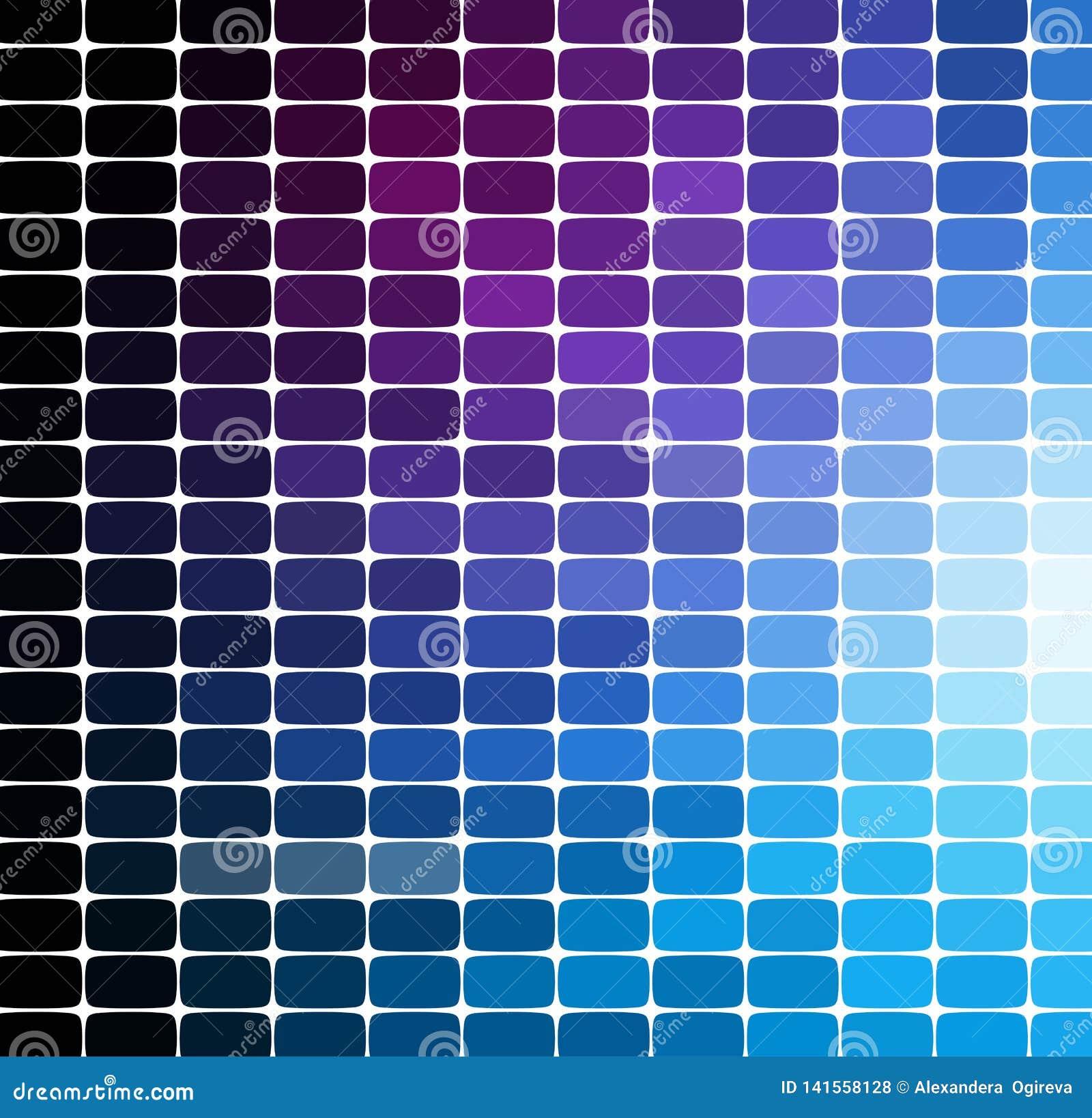 Mosaikmusterhintergrund Helle bunte Fliesen mit weißer Abstandsbeschaffenheit