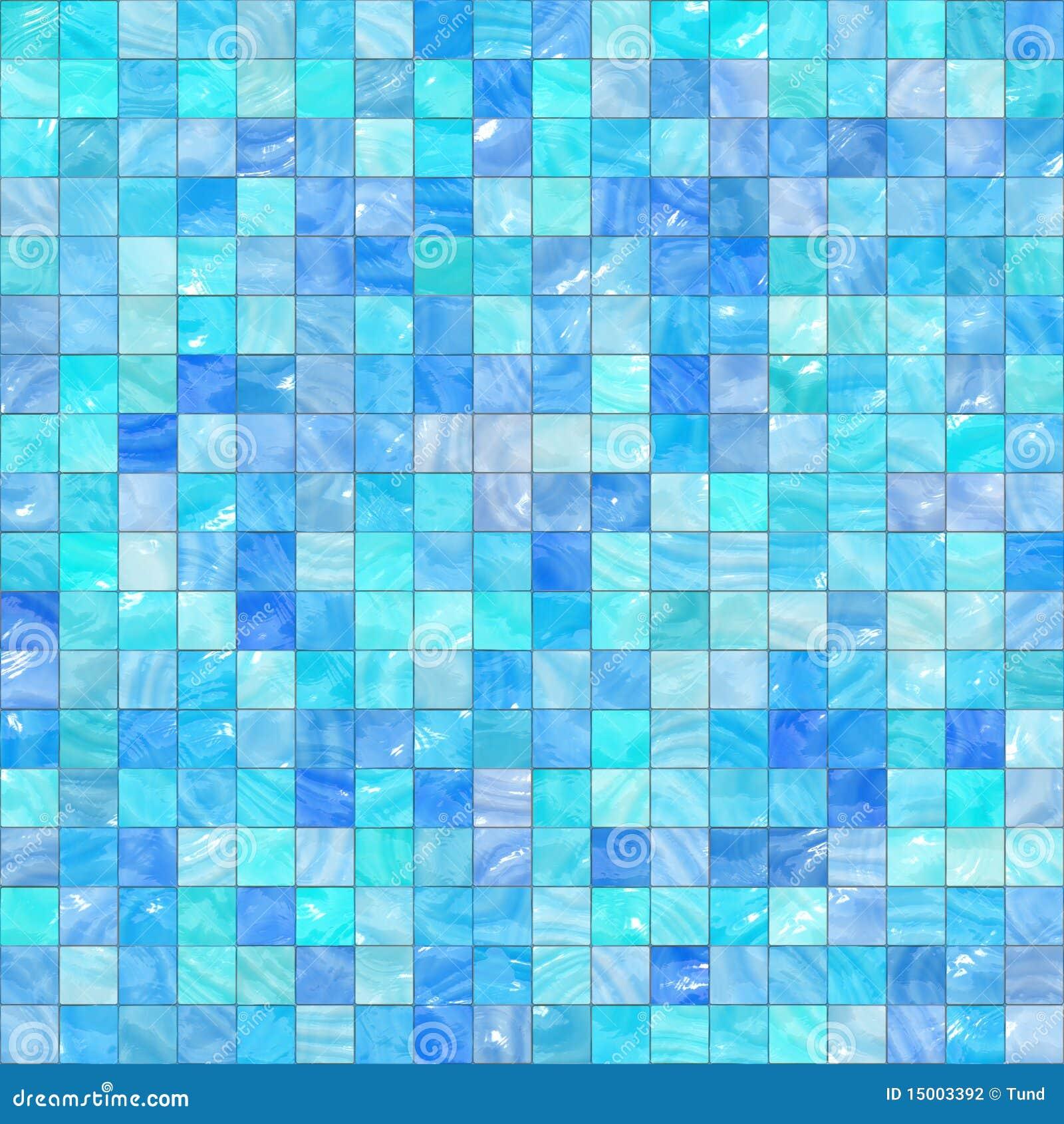 mosaque bleue - Mosaique Turquoise