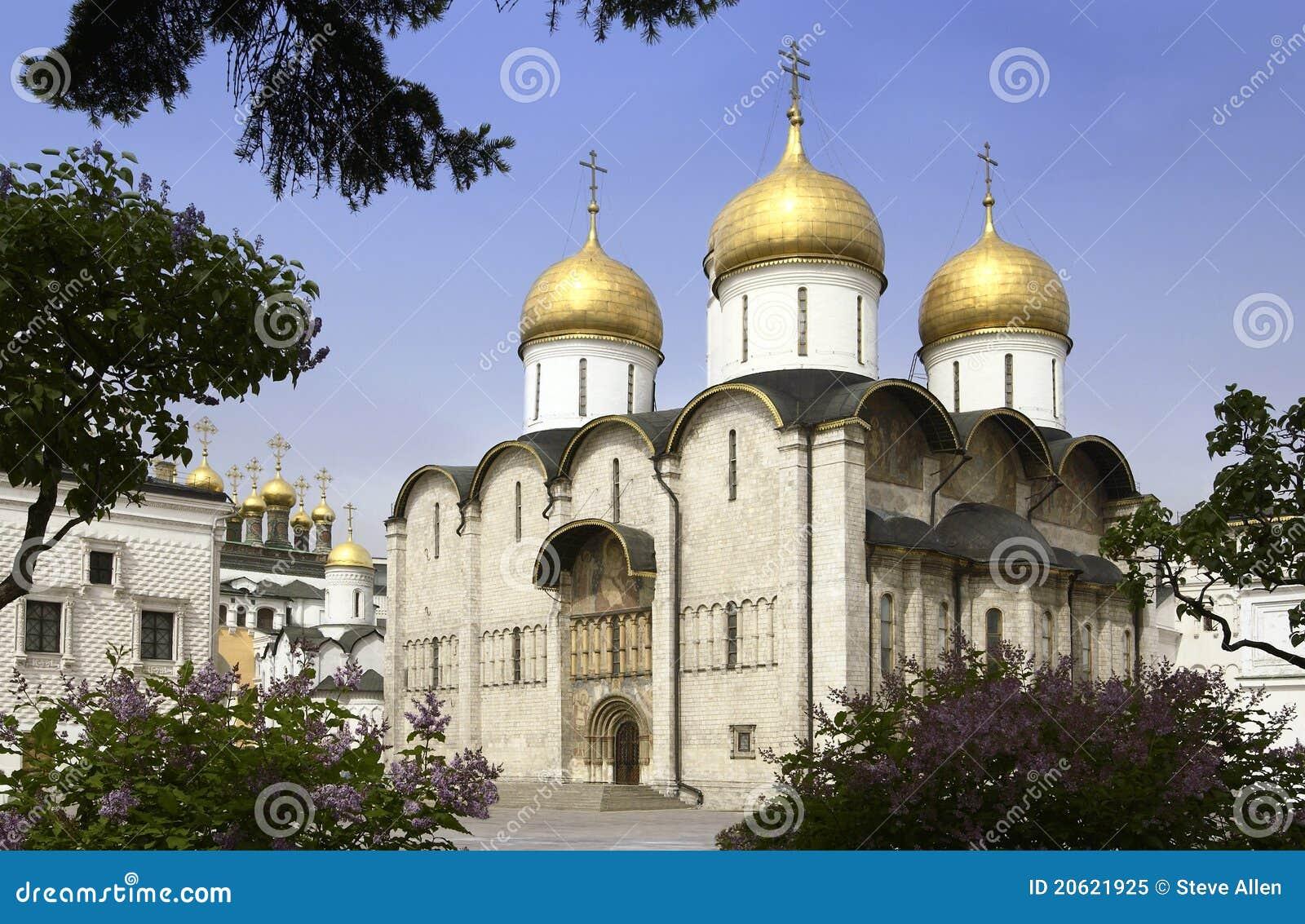 Moscú - catedral de la asunción