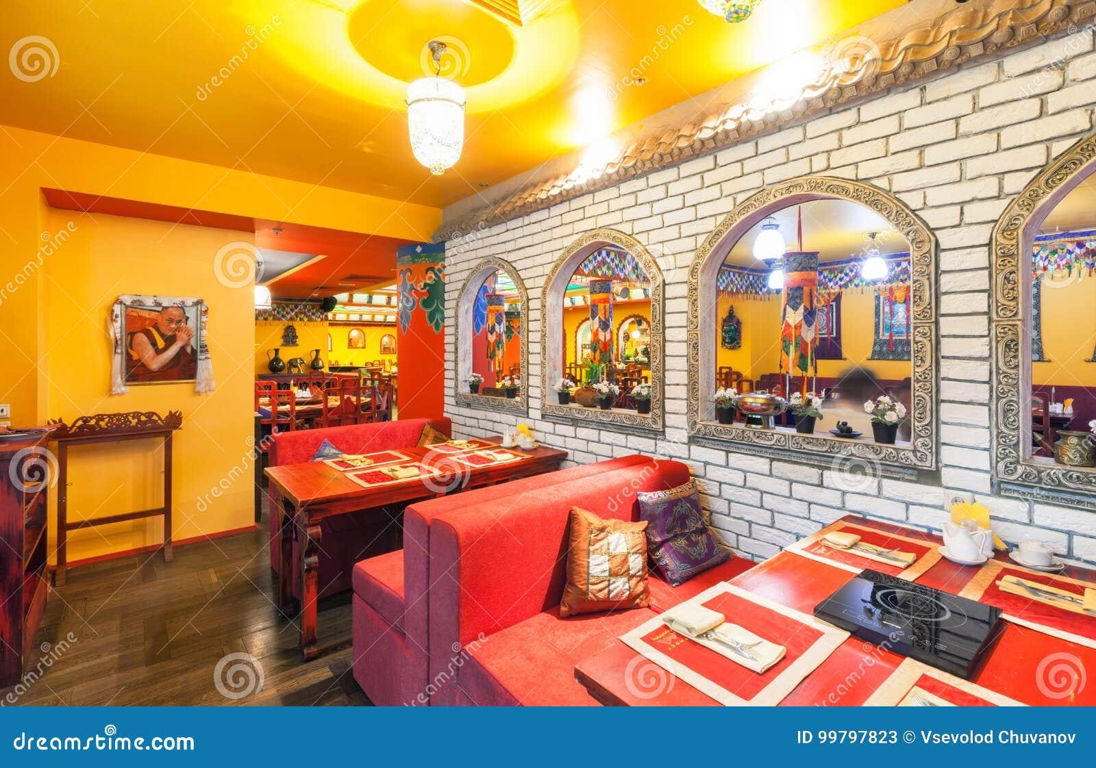 MOSCA - AGOSTO 2014: L\'interno Della Cucina Indiana E ...