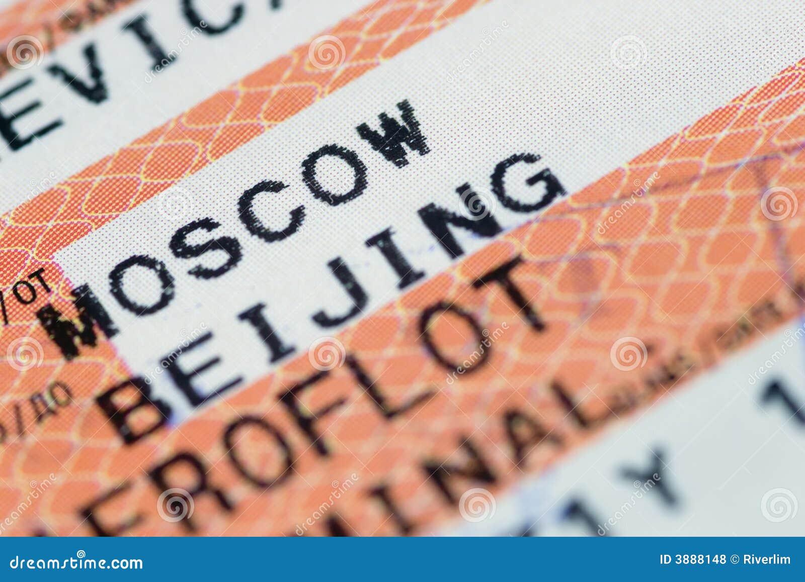 Mosca a Pechino