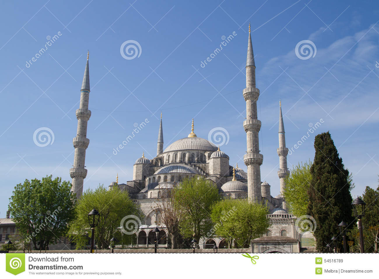 Moschea blu, Sultan Ahmed Mosque, Costantinopoli, Turchia