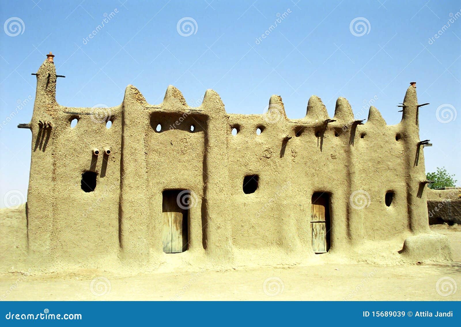 Moschea del fango senossa mali immagini stock libere da for Disegni della stanza del fango