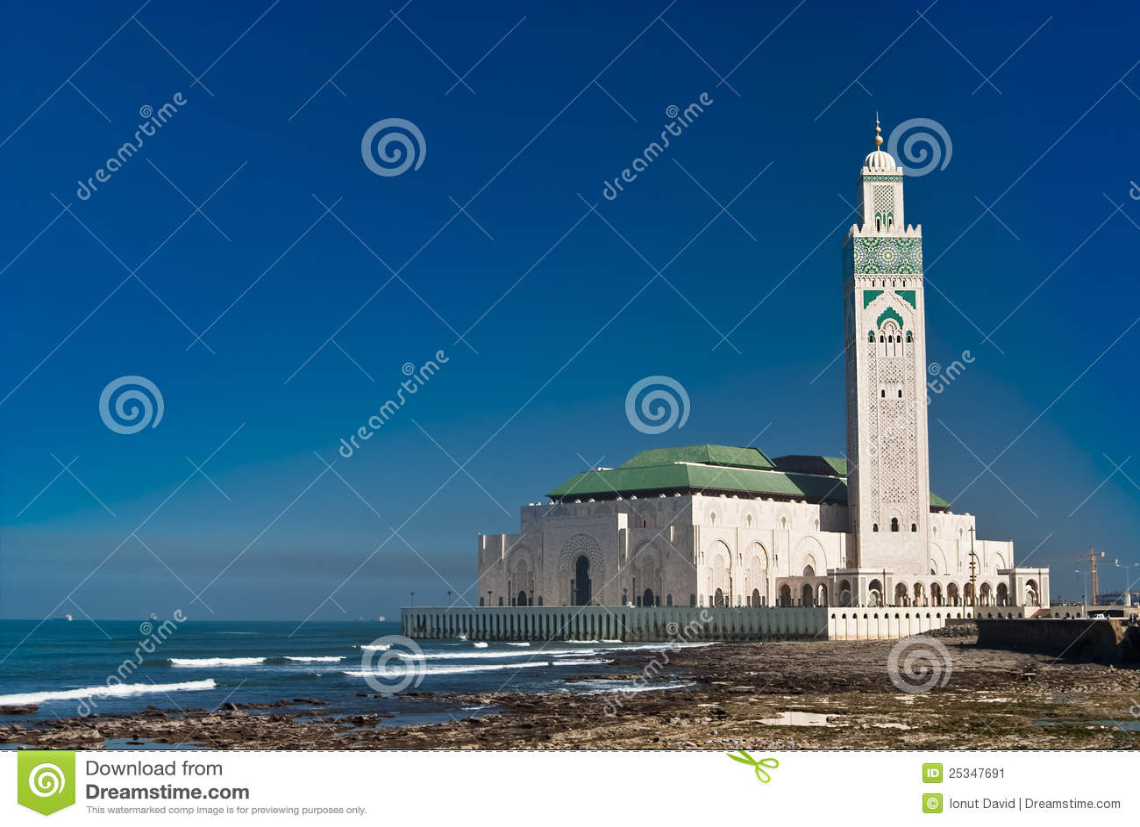 Moschea del re hassan ii casablanca marocco immagine - Marocco casablanca ...