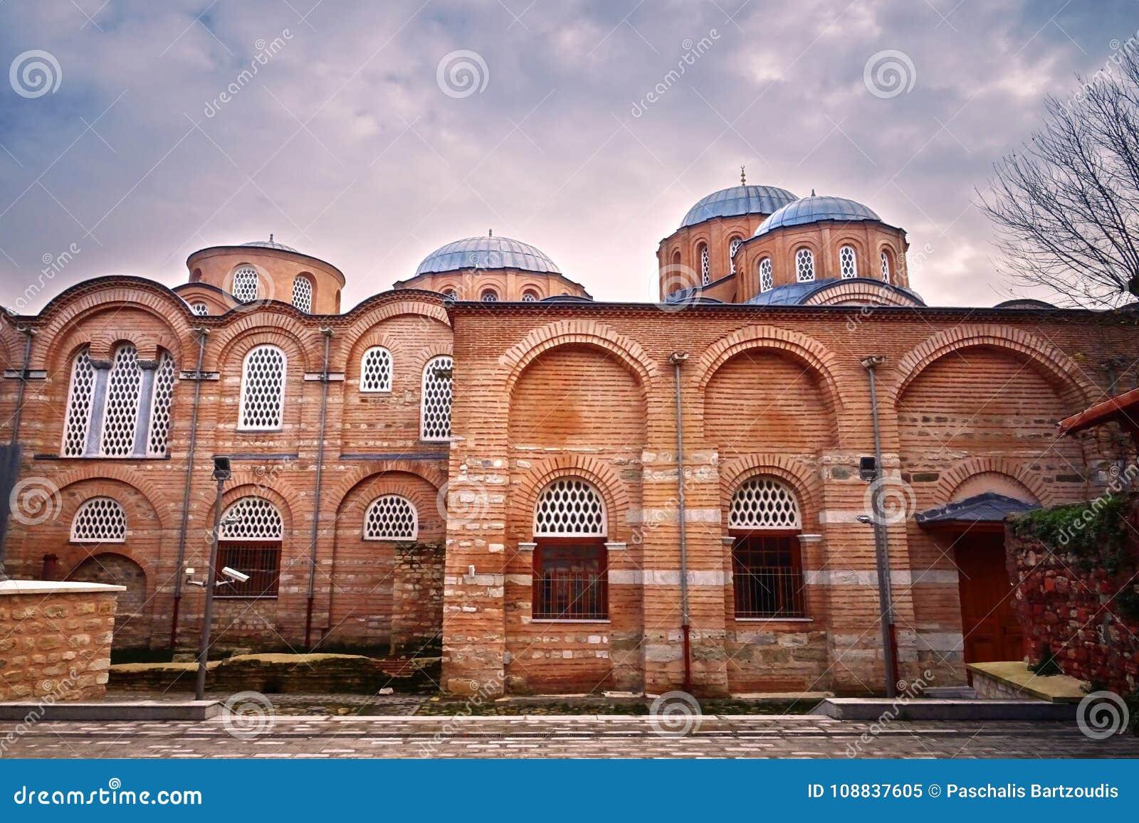 Moschea Di Zeyrek, La Precedente Chiesa Di Cristo Pantokrator A Costantinopoli Moderna Immagine Stock - Immagine di bosporus, impero: 108837605