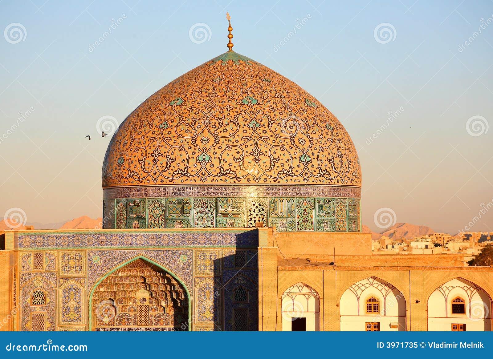 Moschea a Ispahan, Iran