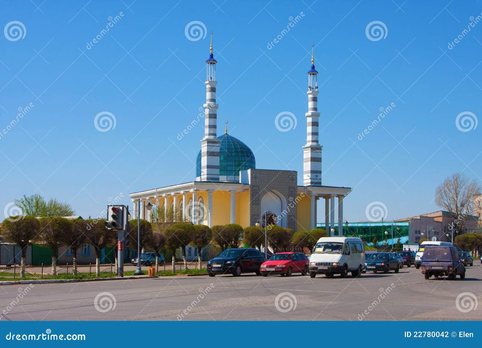 Moschee in der Stadt von Uralsk, Kasachstan