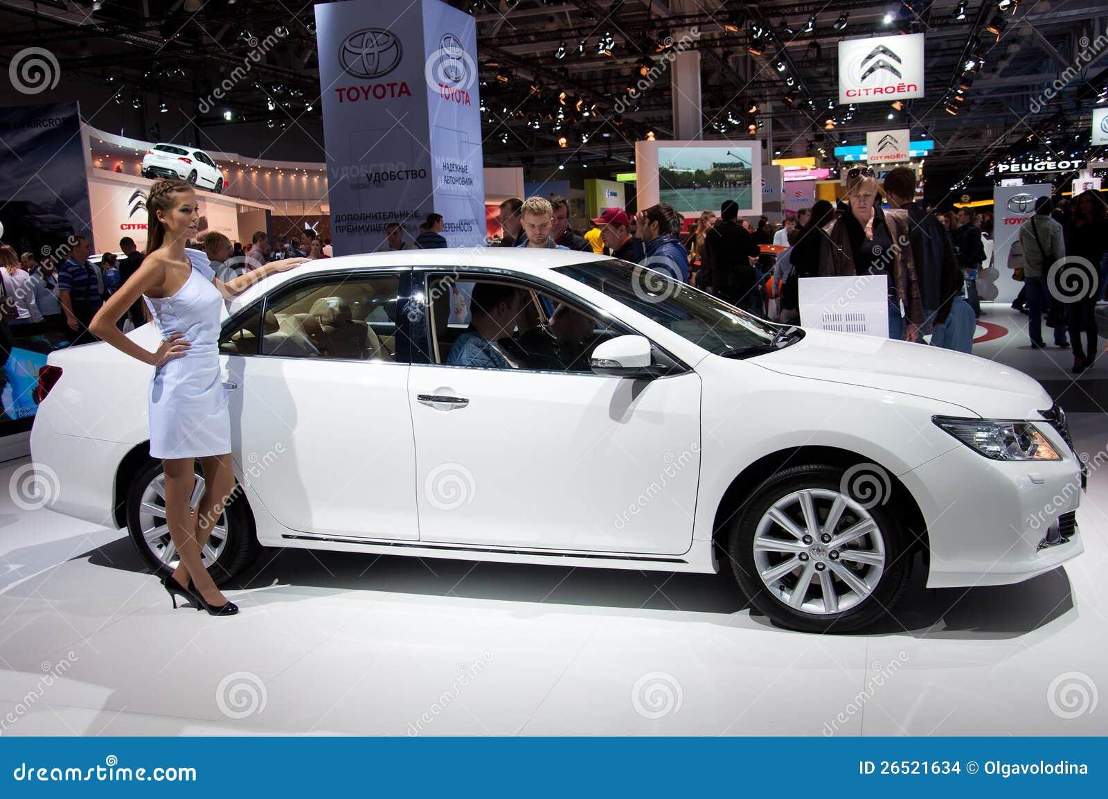 Moscovo MotorShow internacional setembro 8.2012