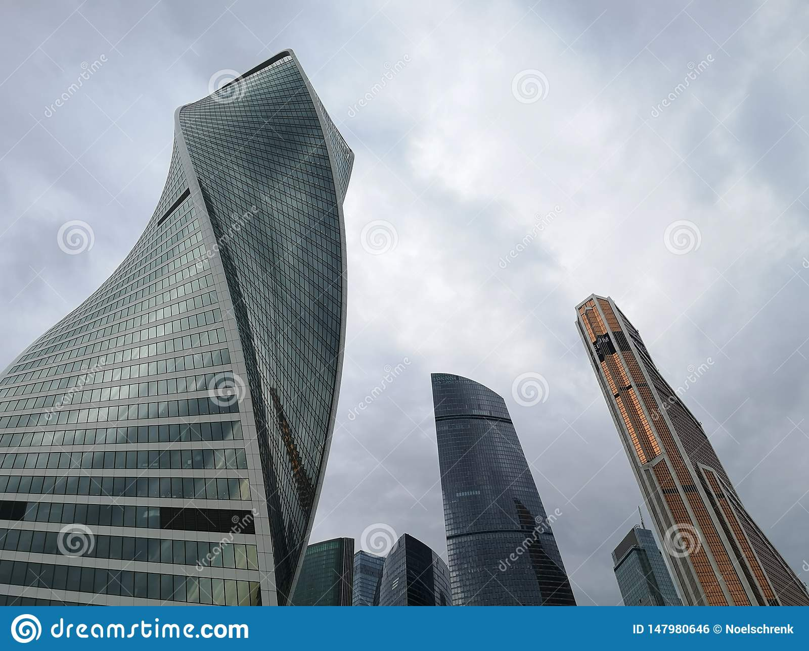 Moscow City Skyscrapers. Explore Russia.