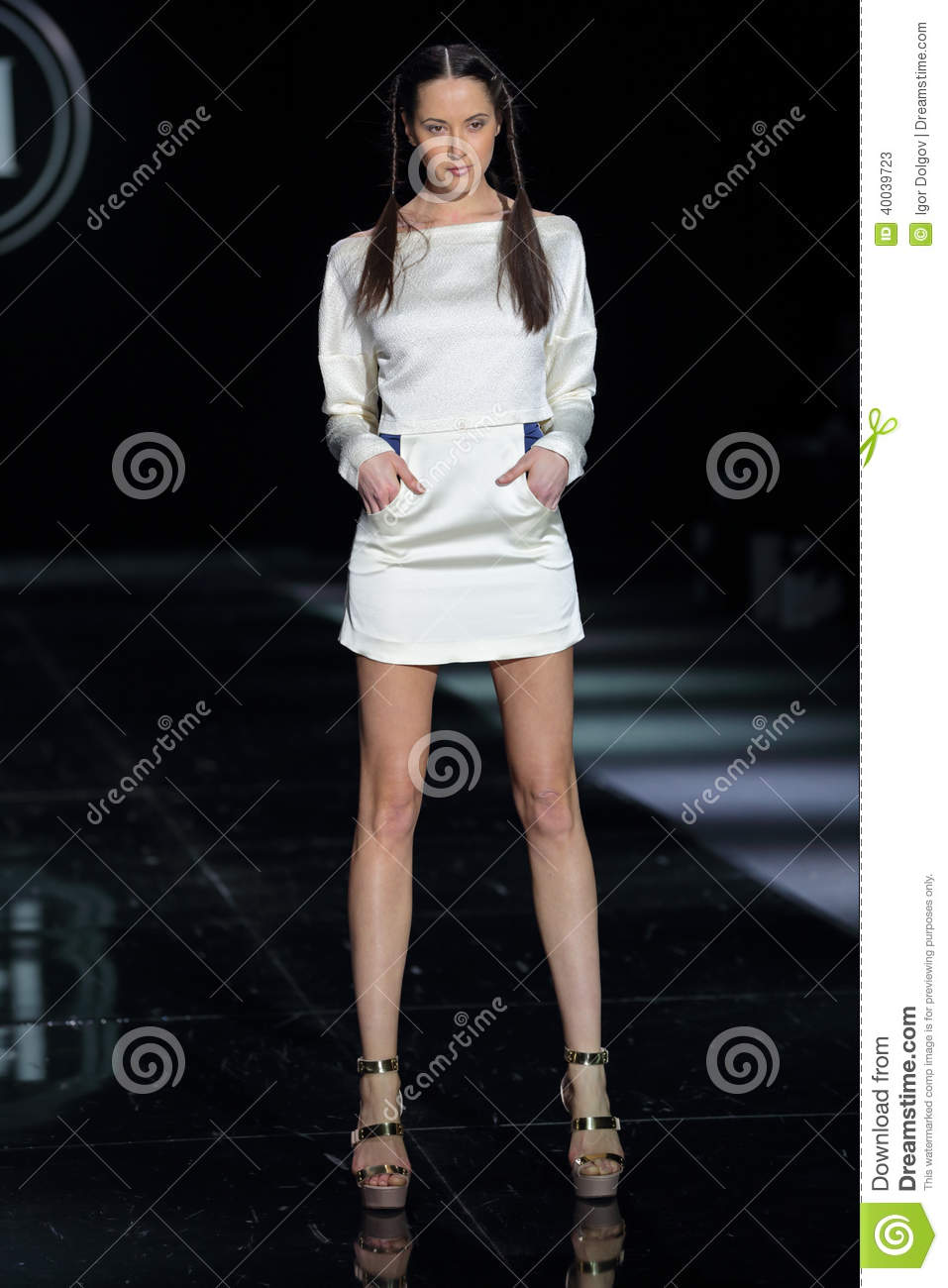 Moscow Fashion Week Editorial Stock Photo Image 40039723