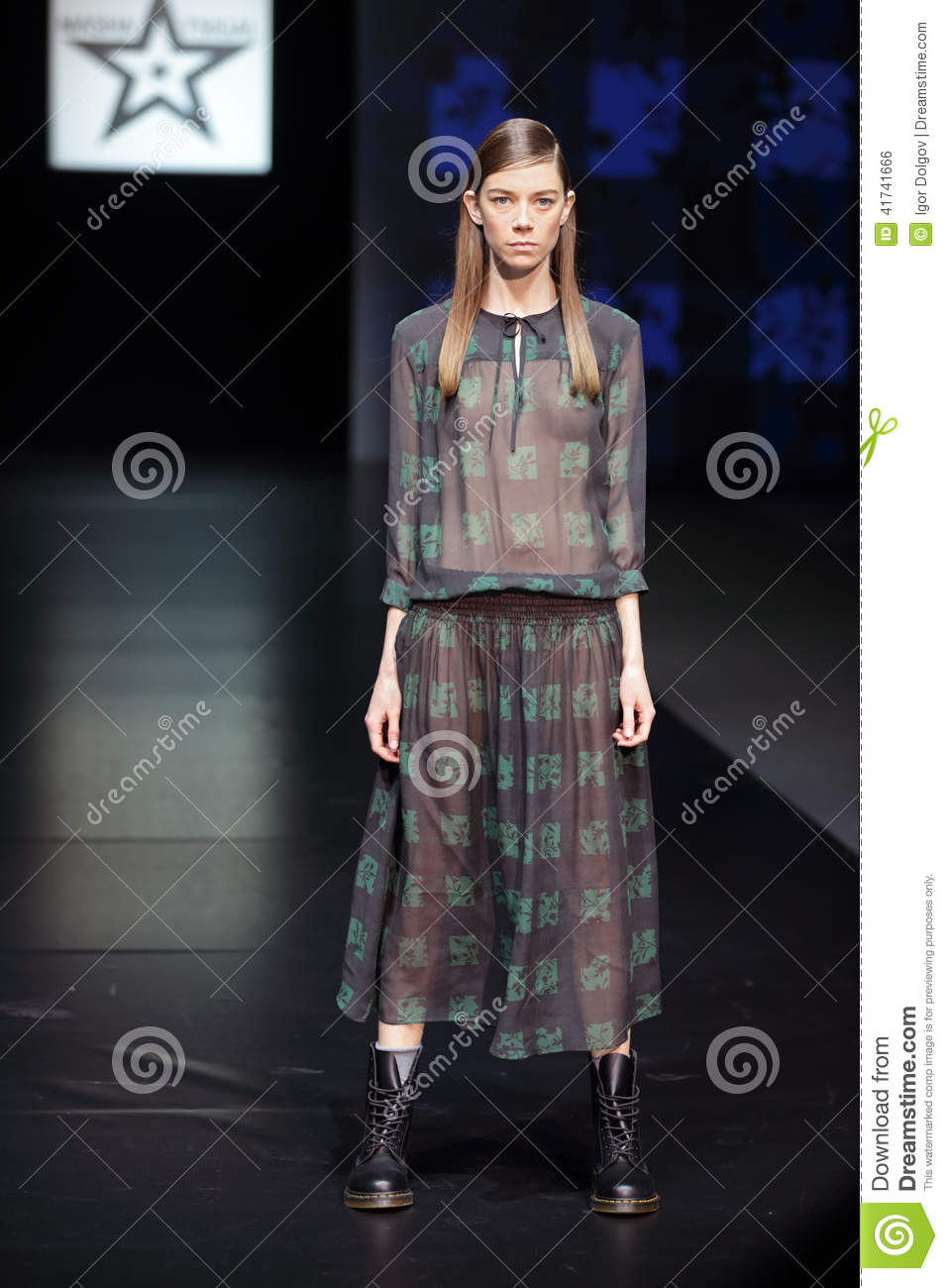 Moscow Fashion Week Editorial Photo Image 41741666