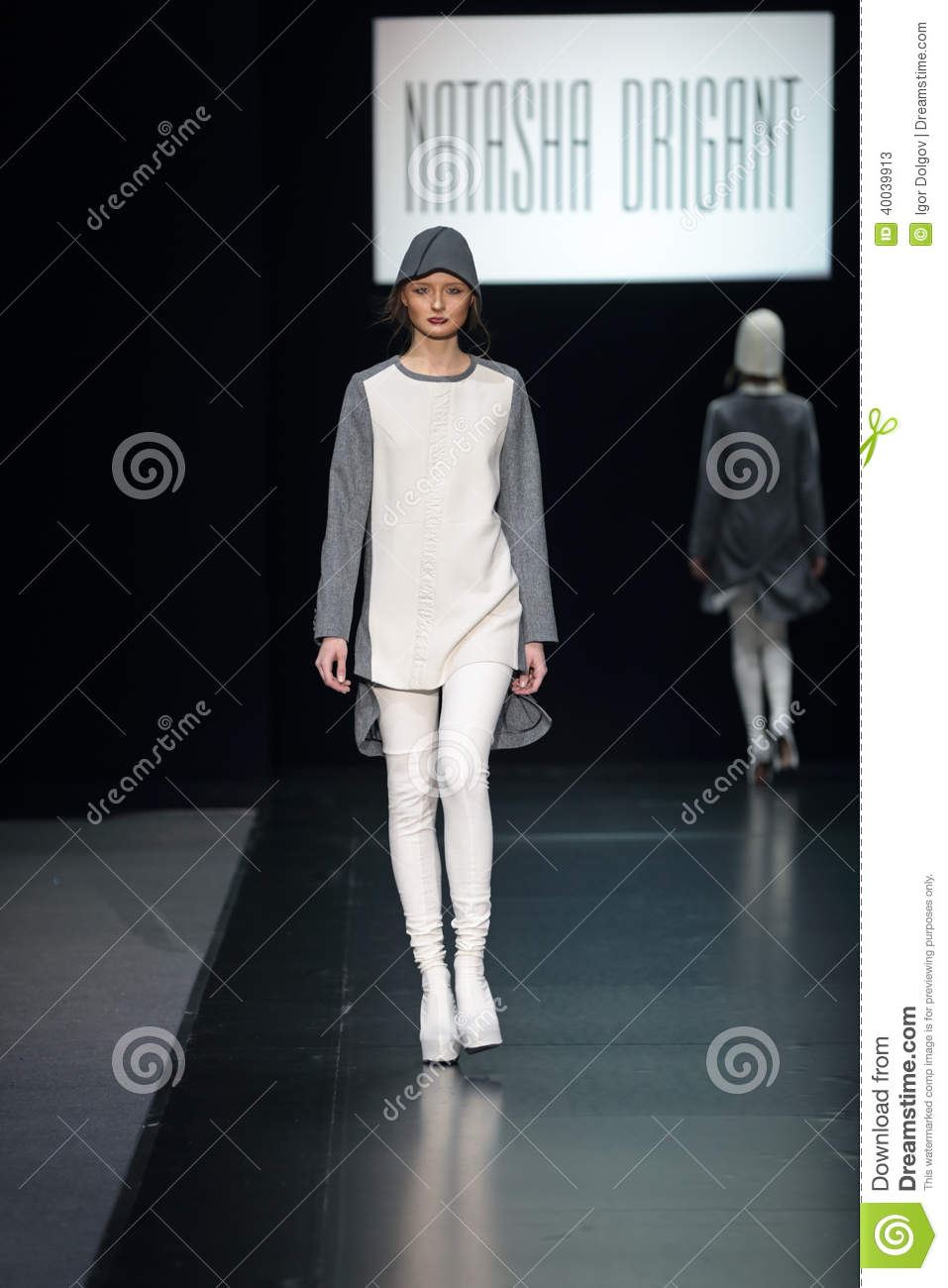 Moscow Fashion Week Editorial Stock Photo Image 40039913