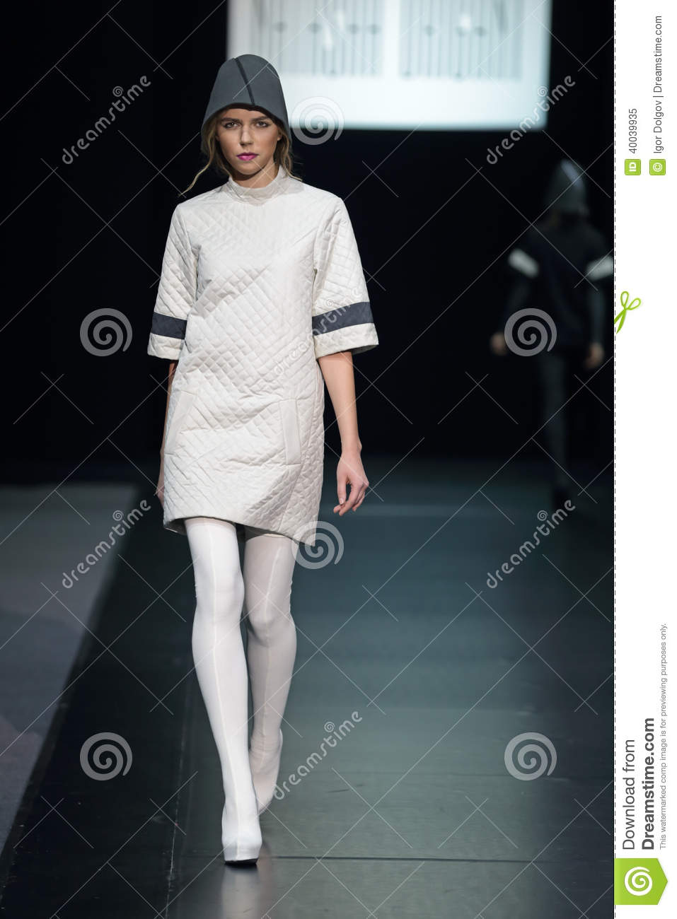 Moscow Fashion Week Editorial Image Image 40039935