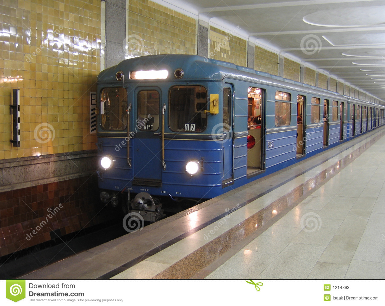 Moscow gångtunneldrev