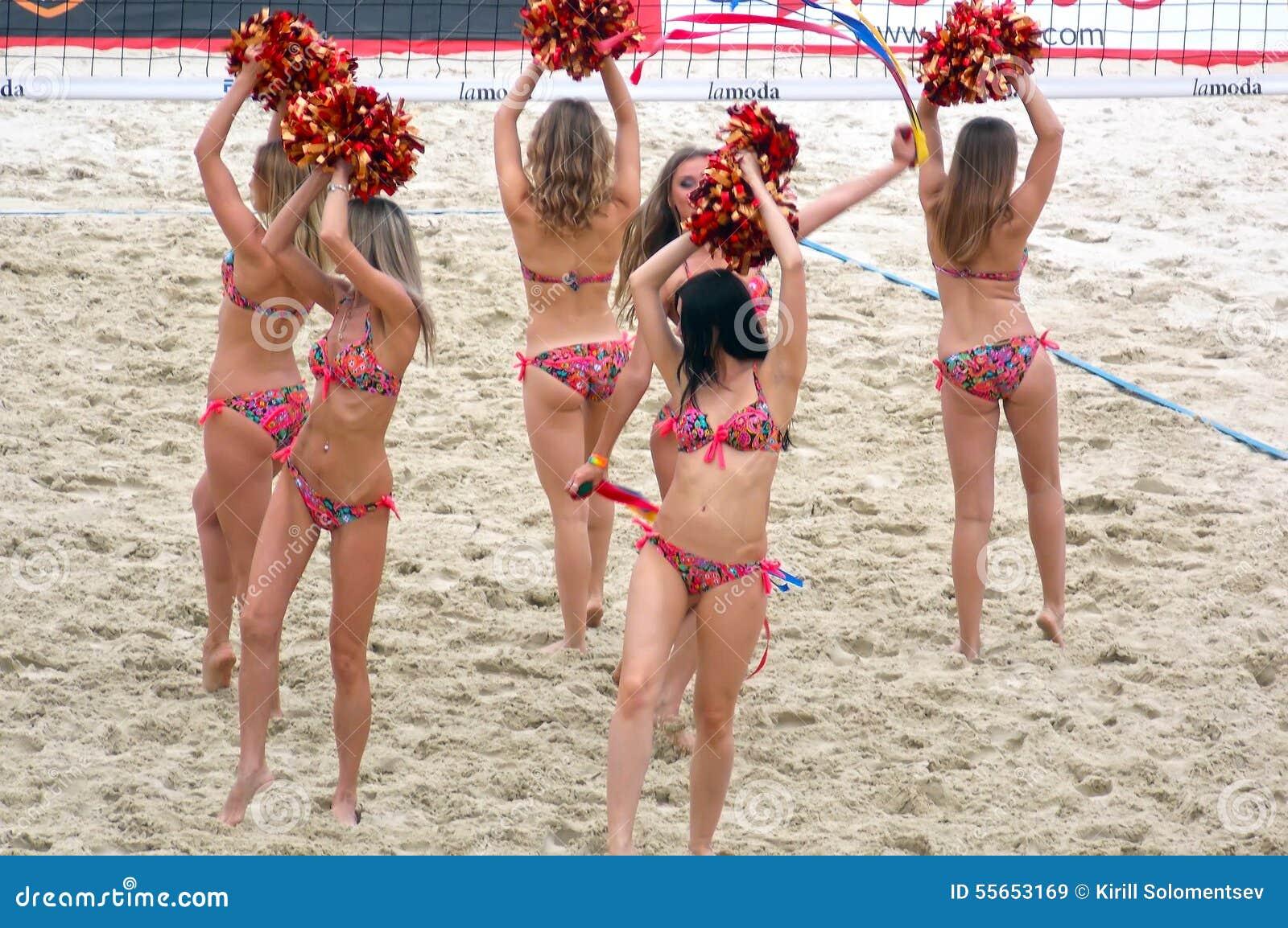 sexy beach volleyball song clip