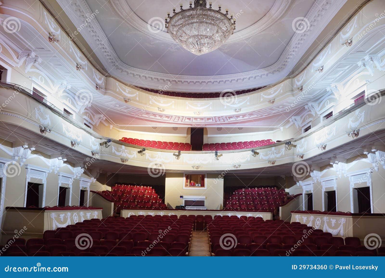 Moscow january 27 empty hall in palace on yauza on january 27 2012