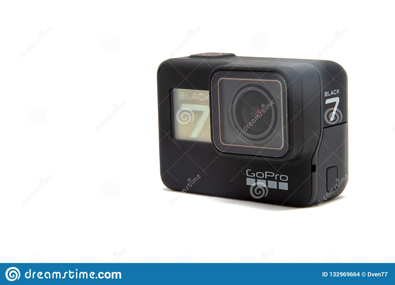 Moscow  November 2018  GoPro HERO 7 Black Product Front And