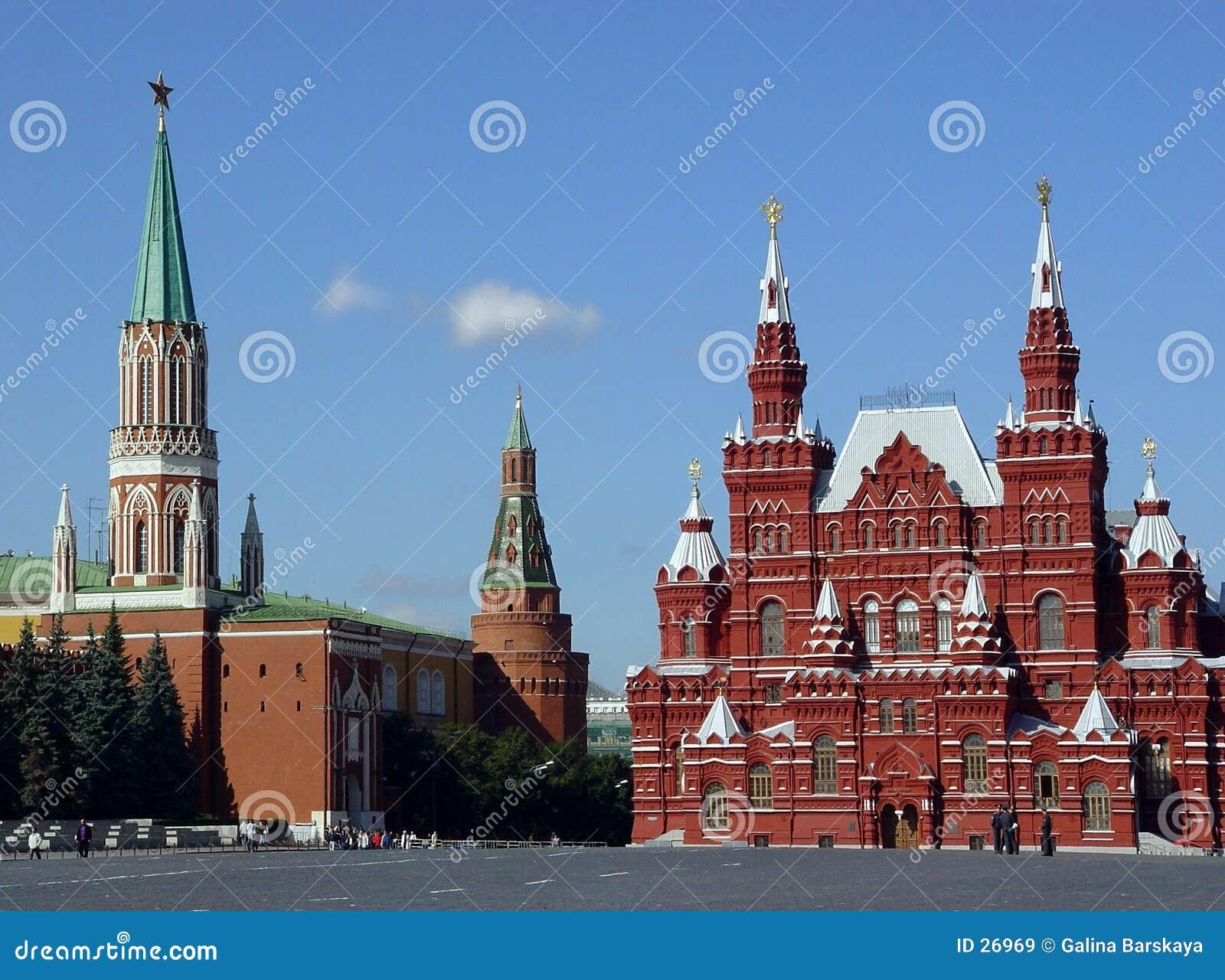 Moscow röd russia fyrkant