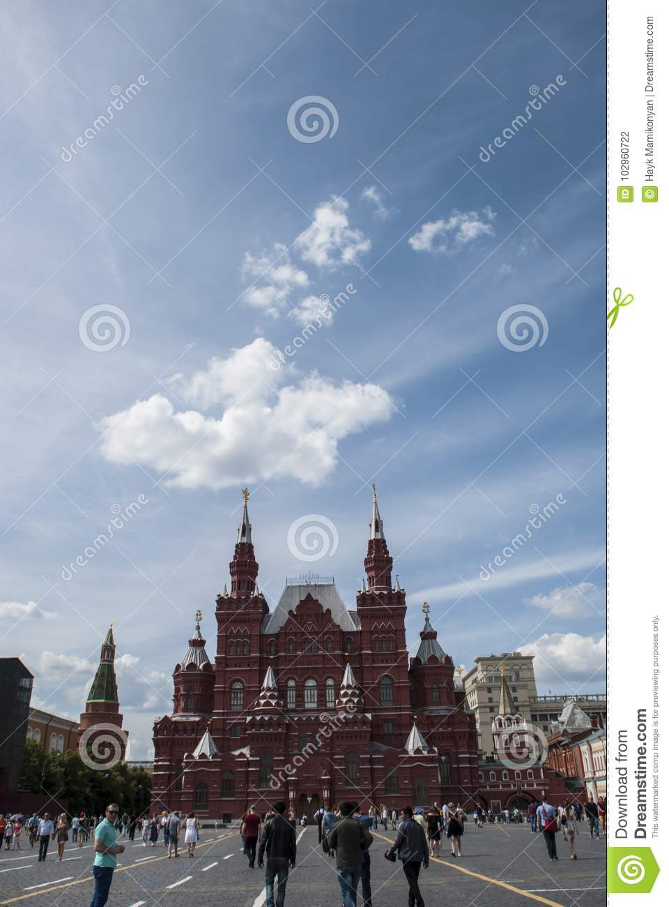 Moscow red square