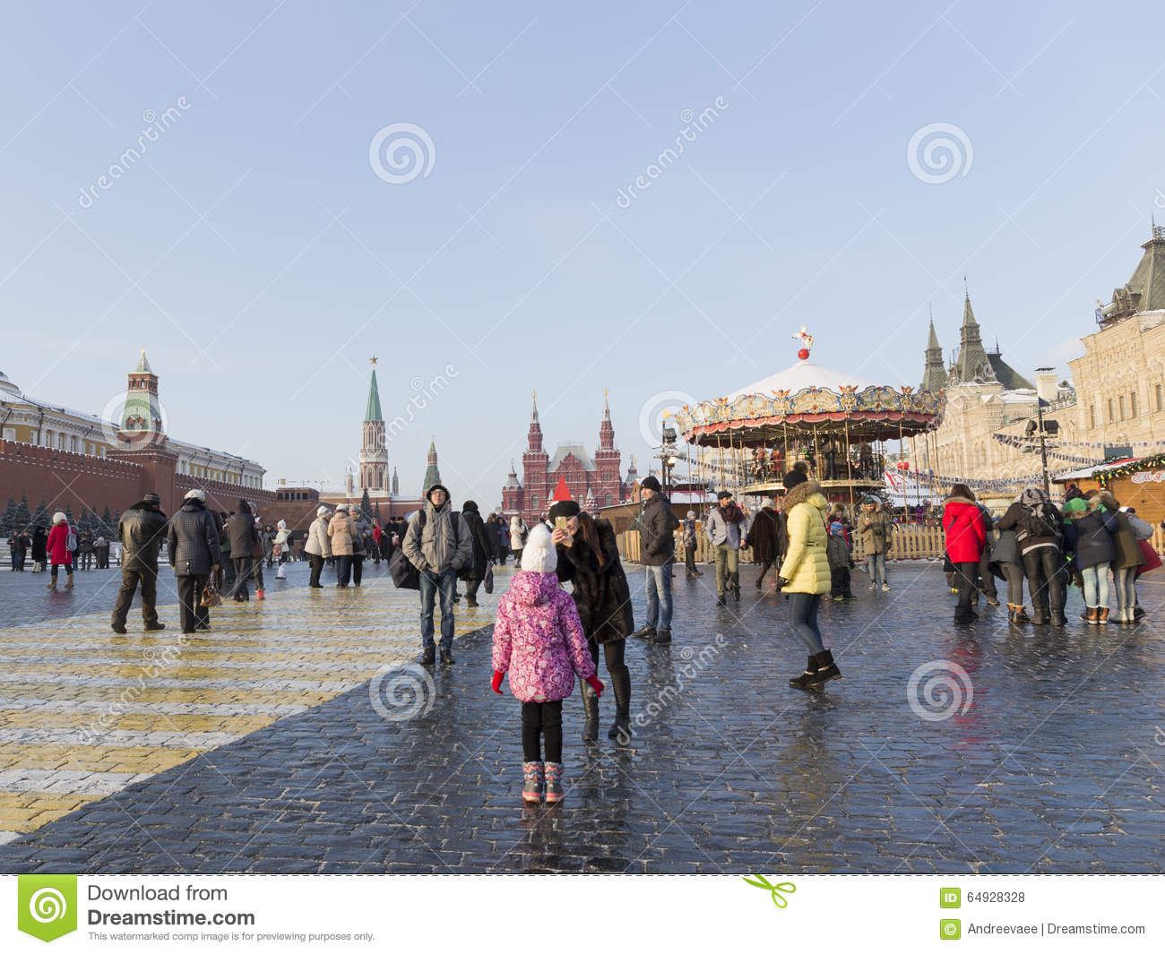 How many people in Moscow 91