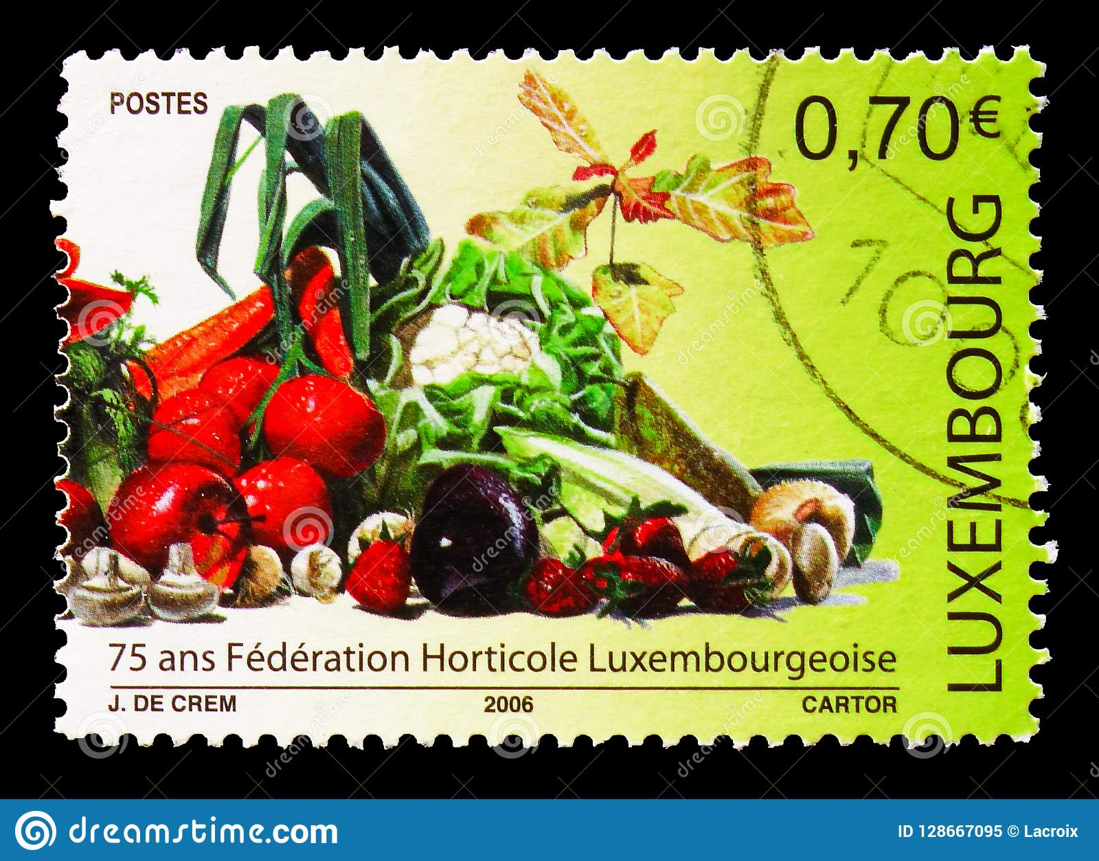 75th Anniversary of the Luxembourg Horticultural Federation, serie, circa 2006
