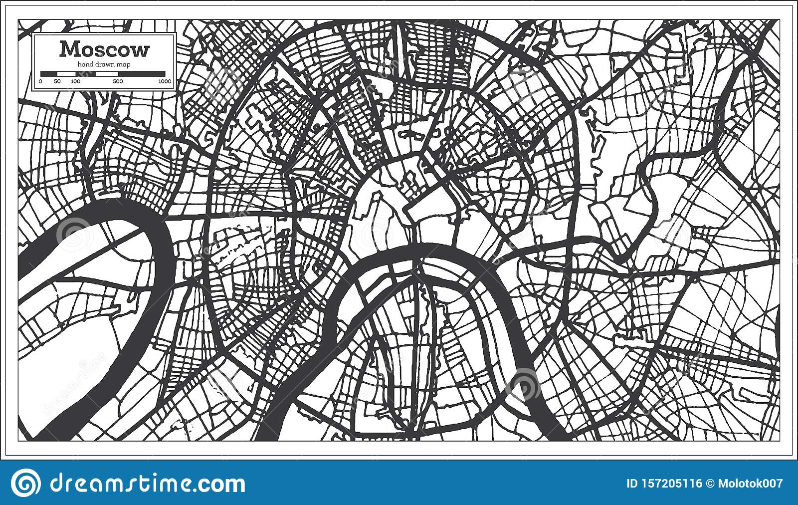 Lovely Moscow city Vector | Premium Download |Moscow City Coloring