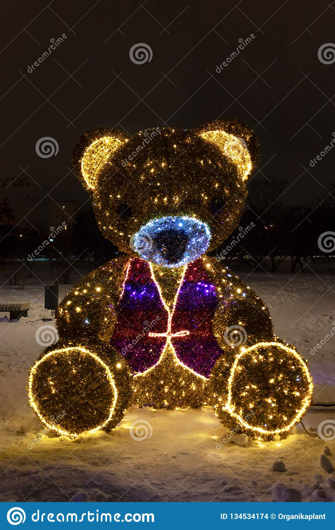 MOSCOW, RUSSIA - DECEMBER 15, 2018: New Year And Christmas ...