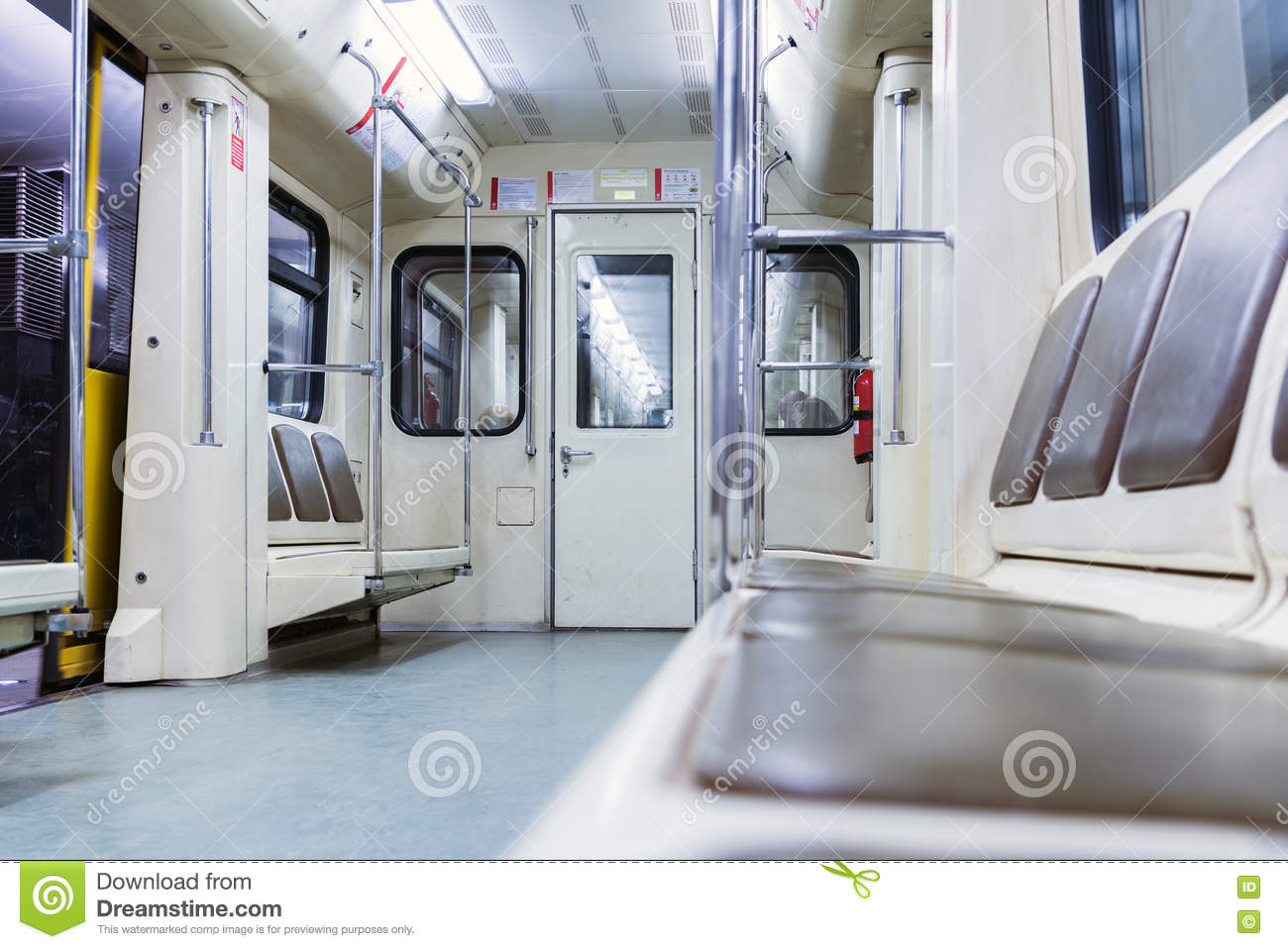 moscow russia july inside of modern subway car editorial stock photo image 82705953. Black Bedroom Furniture Sets. Home Design Ideas