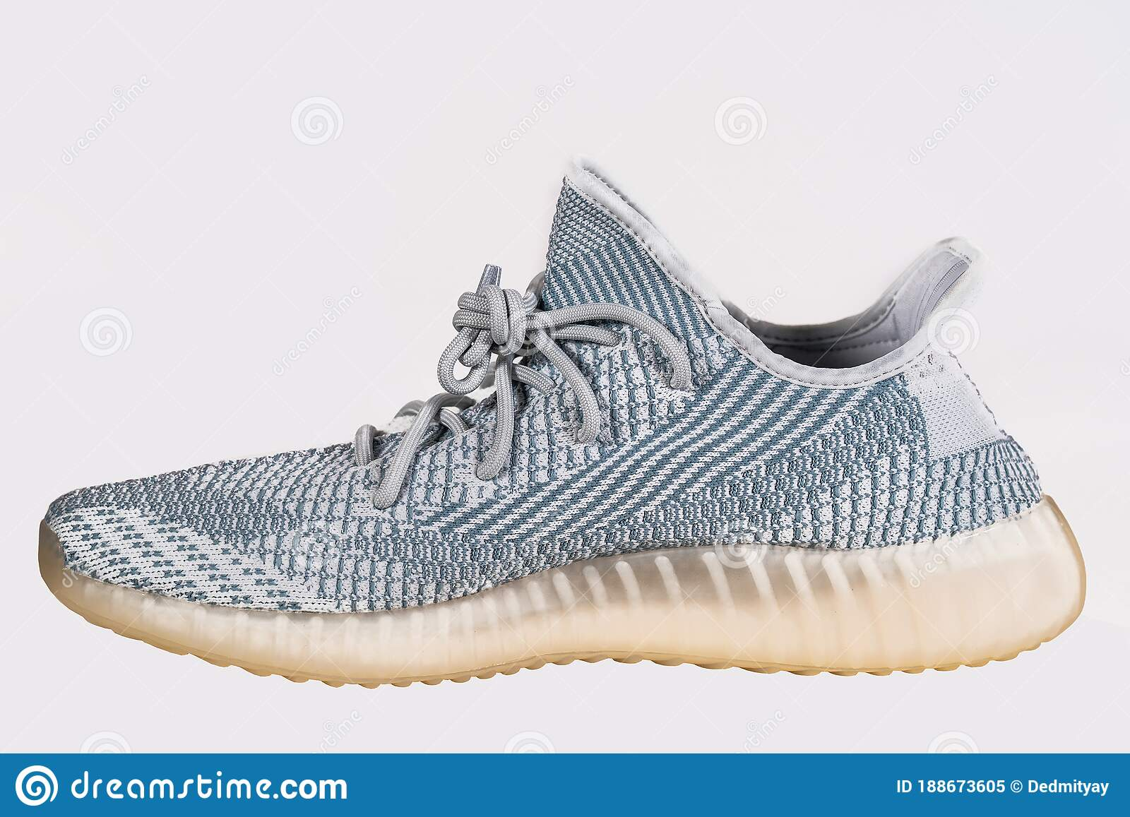 Gobernar Melbourne Grupo  Moscow, Russia - June 2020 : Adidas Yeezy Boost 350 V2 Cloud White - Famous Limited  Collection Fashion Sneakers By Kanye Editorial Image - Image of footwear,  product: 188673605