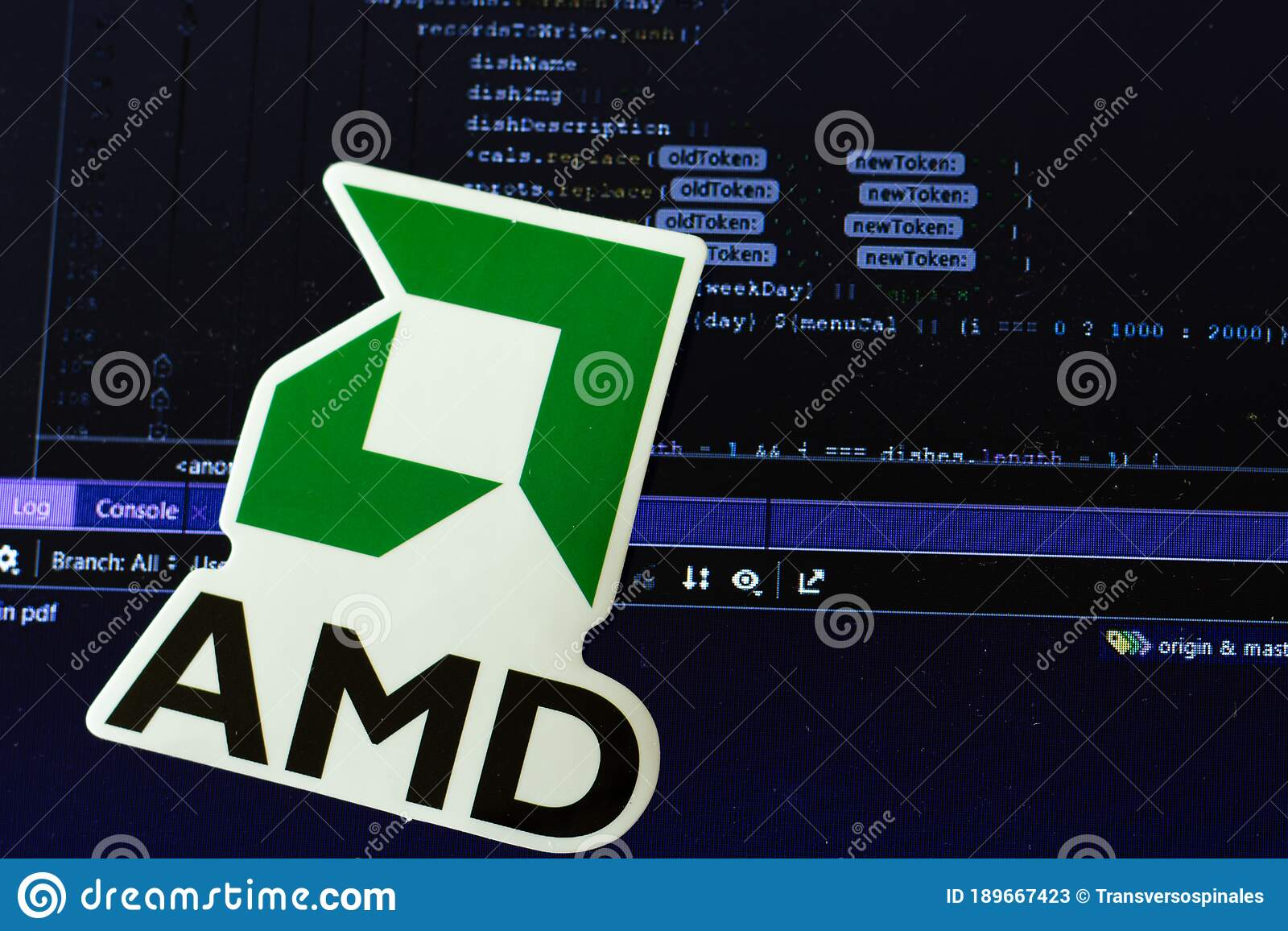 Moscow Russia 1 June 2020 Amd Logo Sign With Program Code On Background Computer Science Illustrative Editorial Editorial Stock Photo Image Of Digital Closeup 189667423