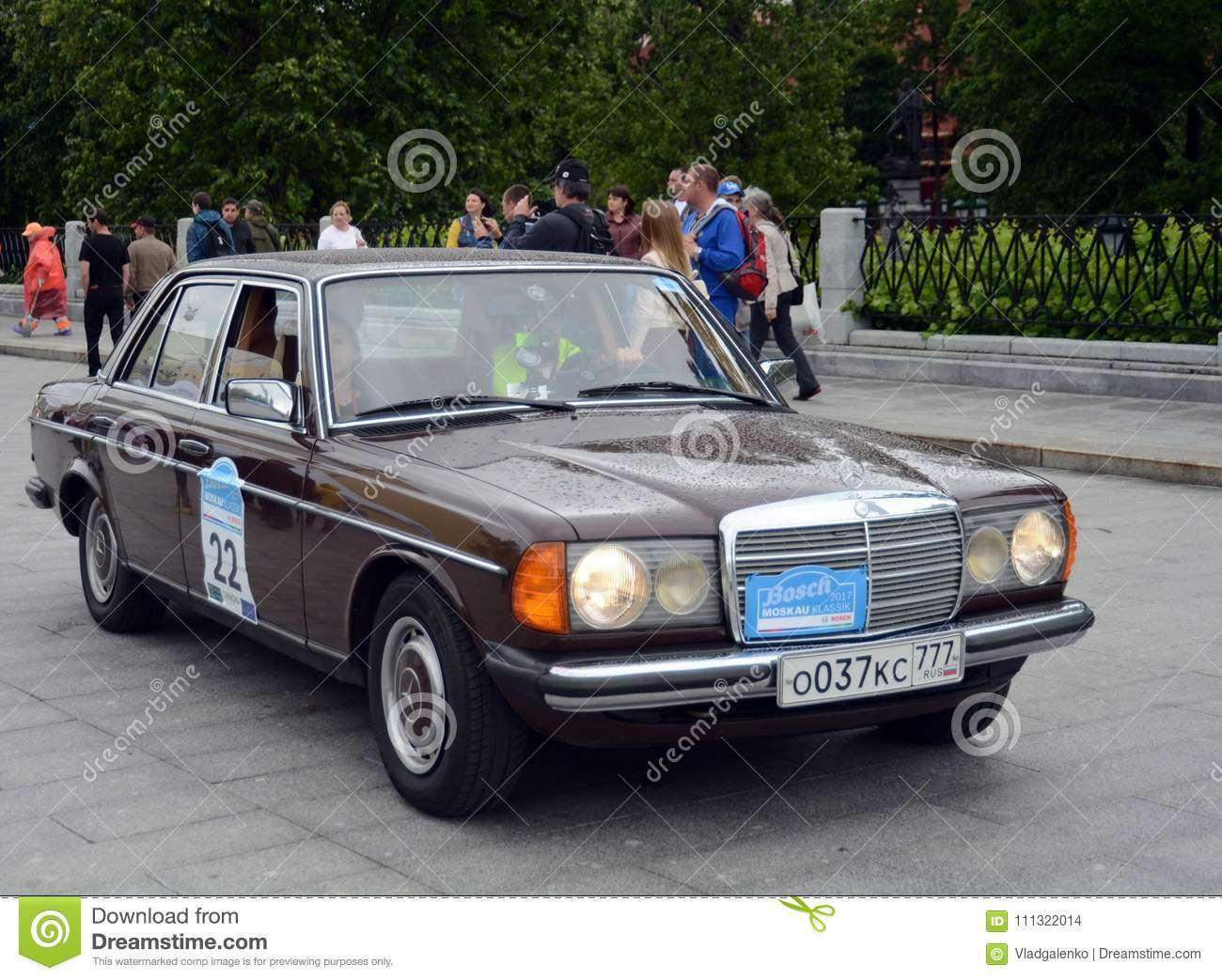 Mercedes-Benz To Rally Vintage Cars Bosch Moskau Klassik In Moscow ...
