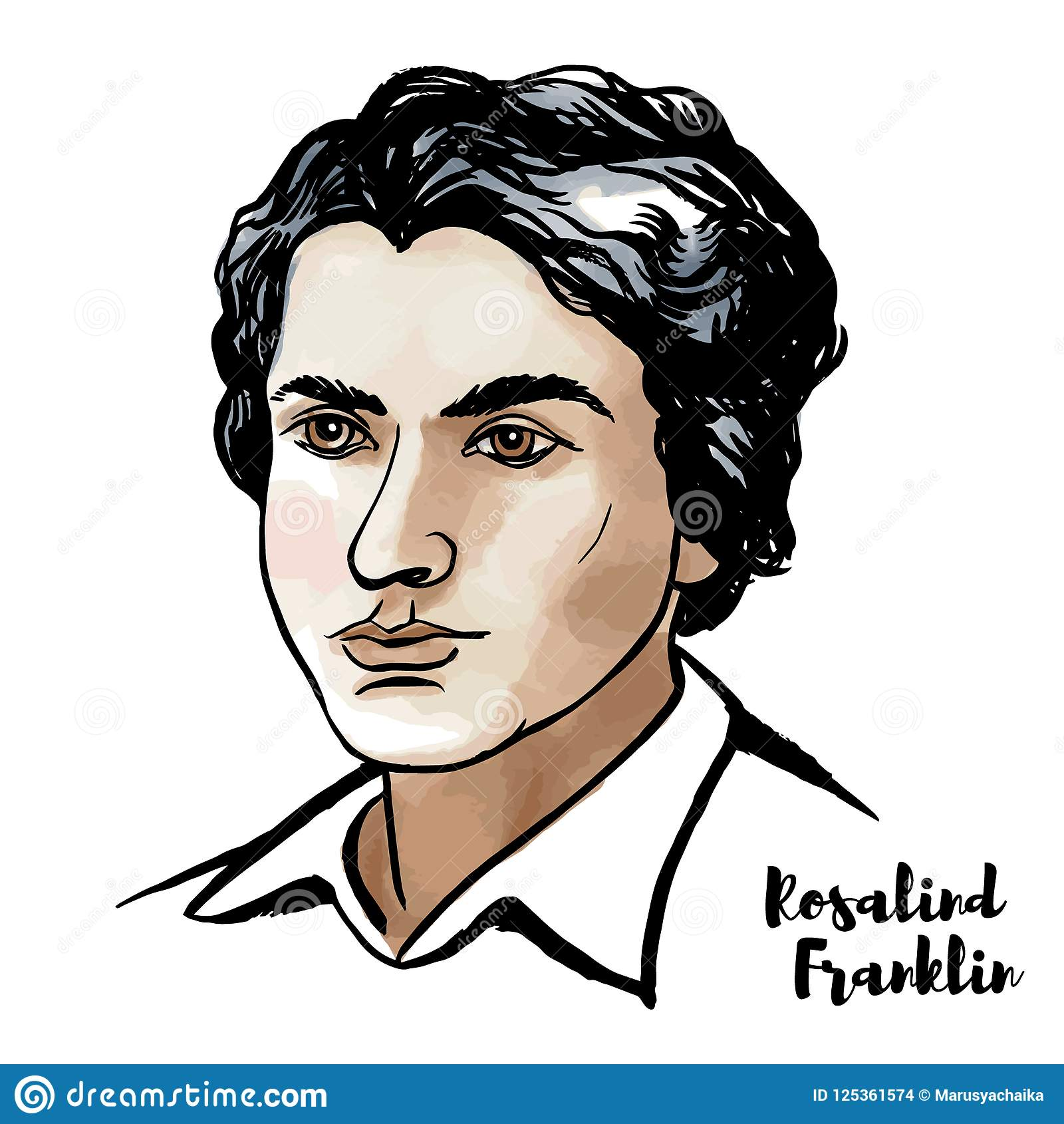 Rosalind Franklin Portrait