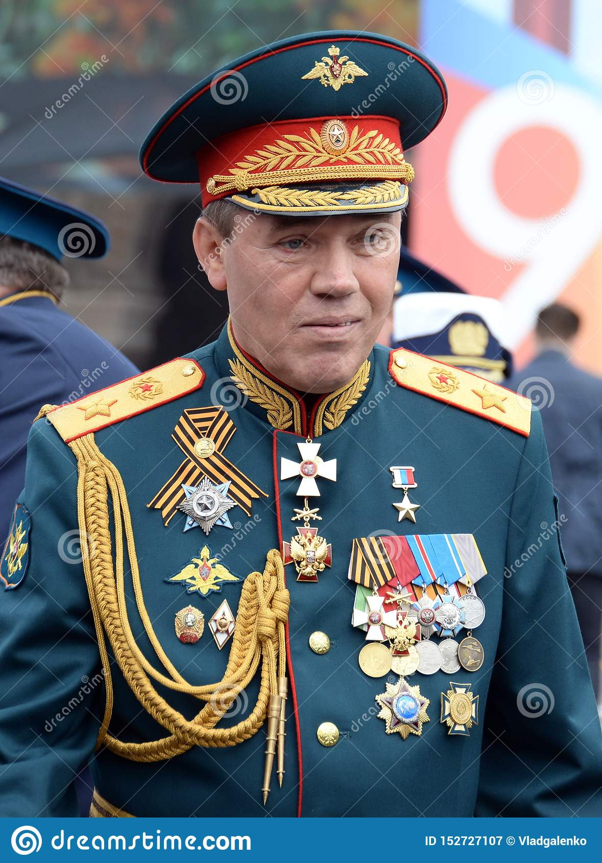 Chief Of The General Staff Of The Russian Armed Forces — First Deputy  Defense Minister, Army General Valery Gerasimov Editorial Photography -  Image of ministry, leader: 152727107