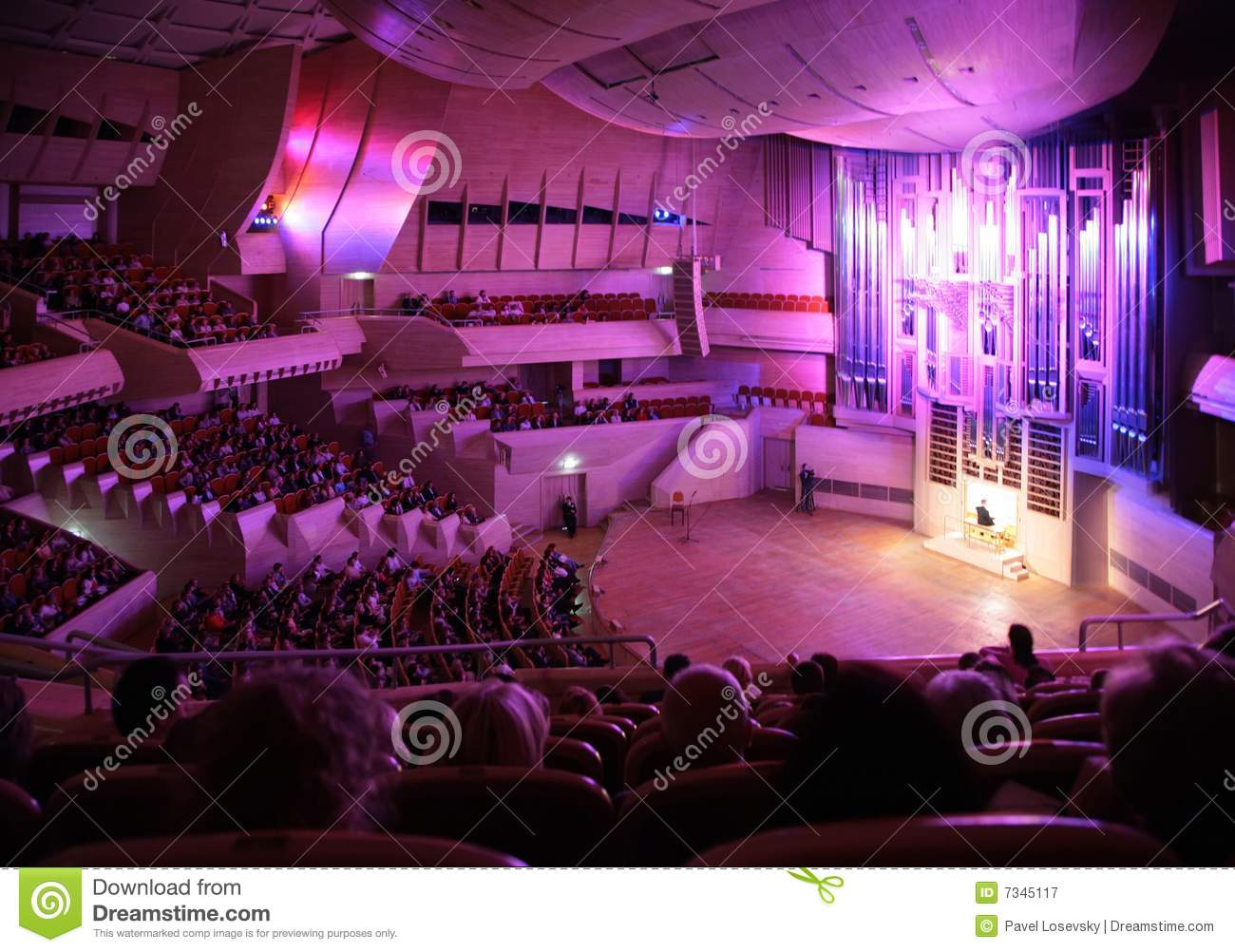 Moscow russia october 10 concert of organ music for House music 2008