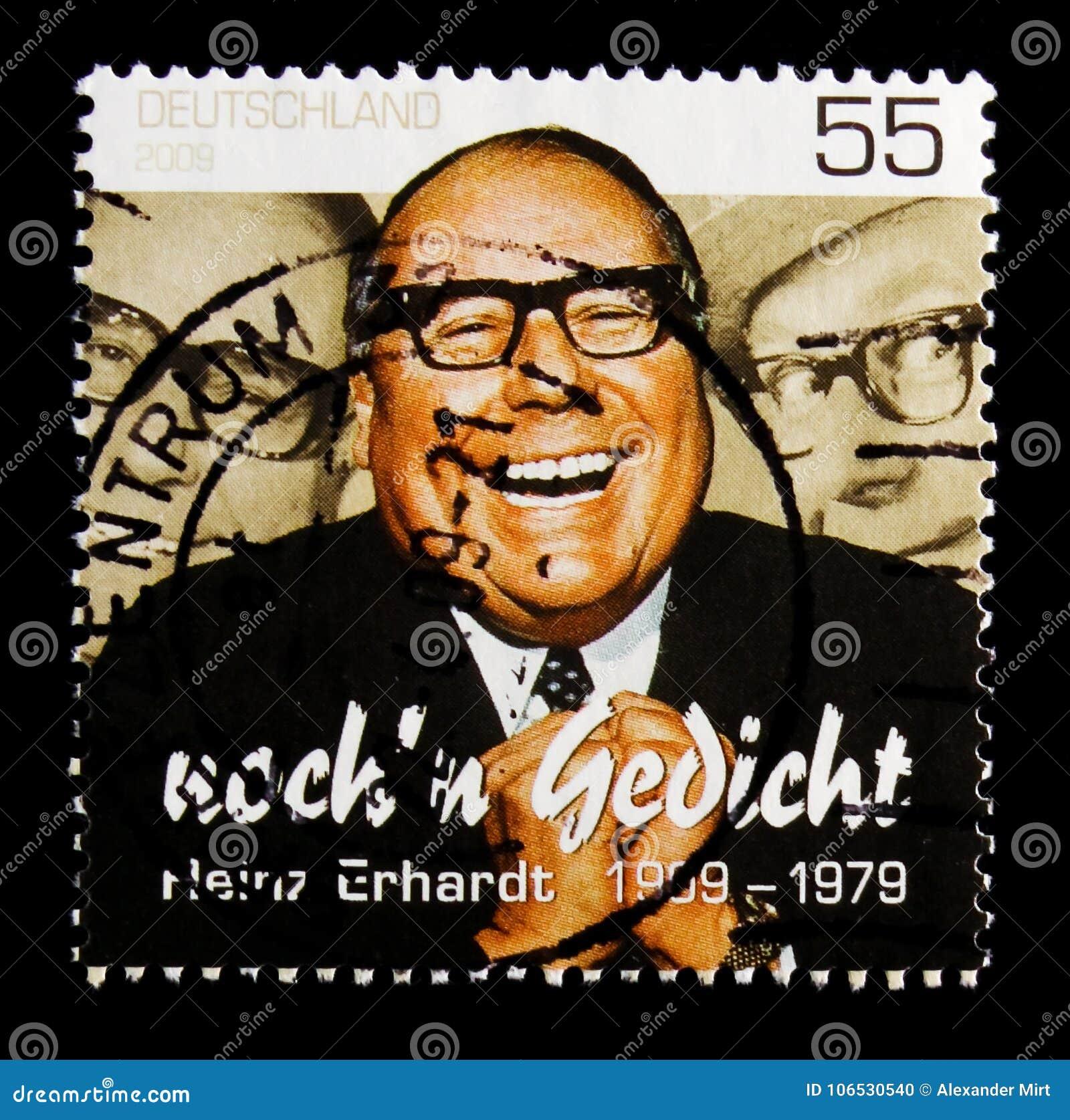 Birth Centenary Of Heinz Erhardt Serie Circa 2009