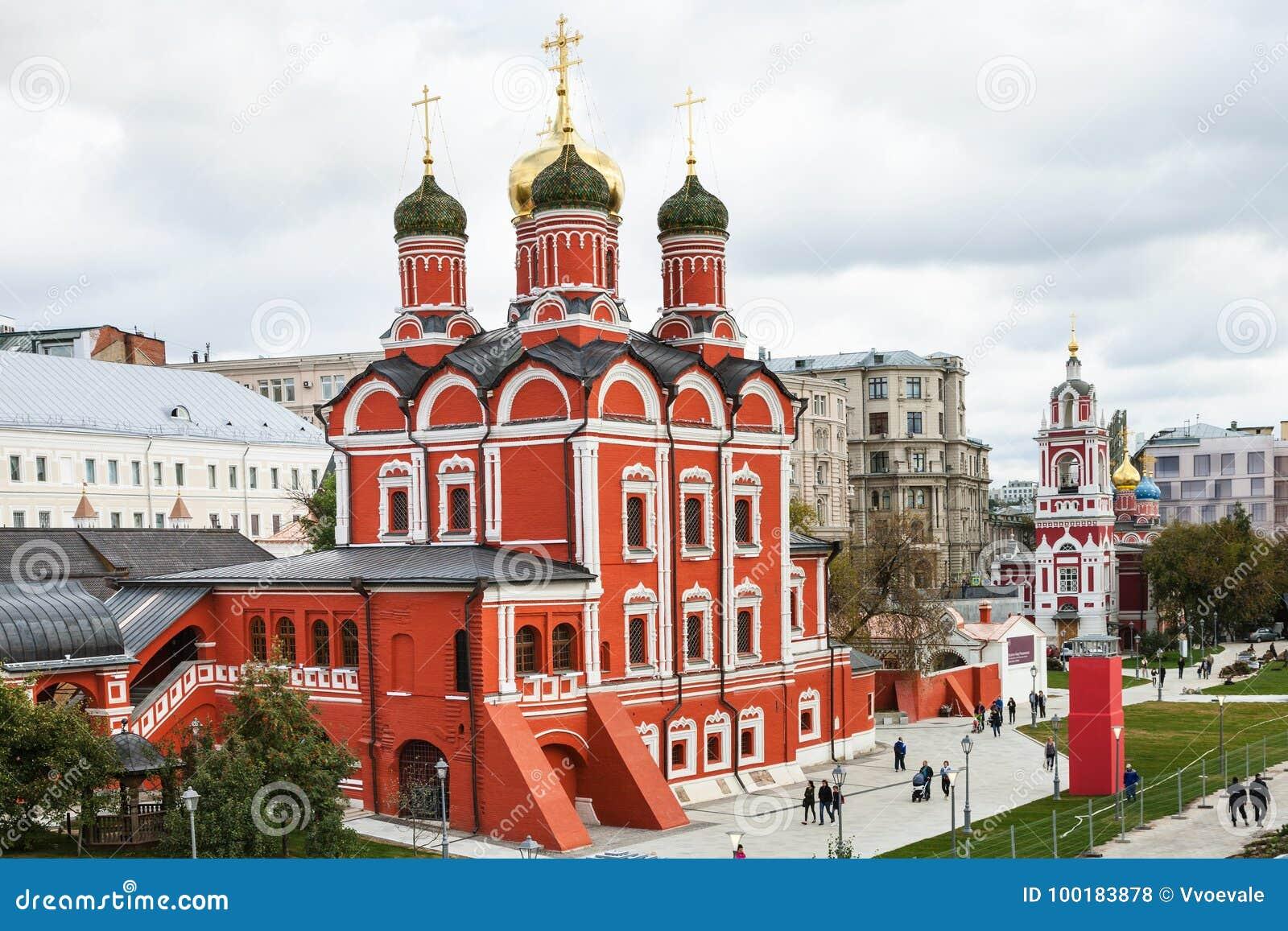 Znamensky Monastery in Romanov Chambers in Moscow