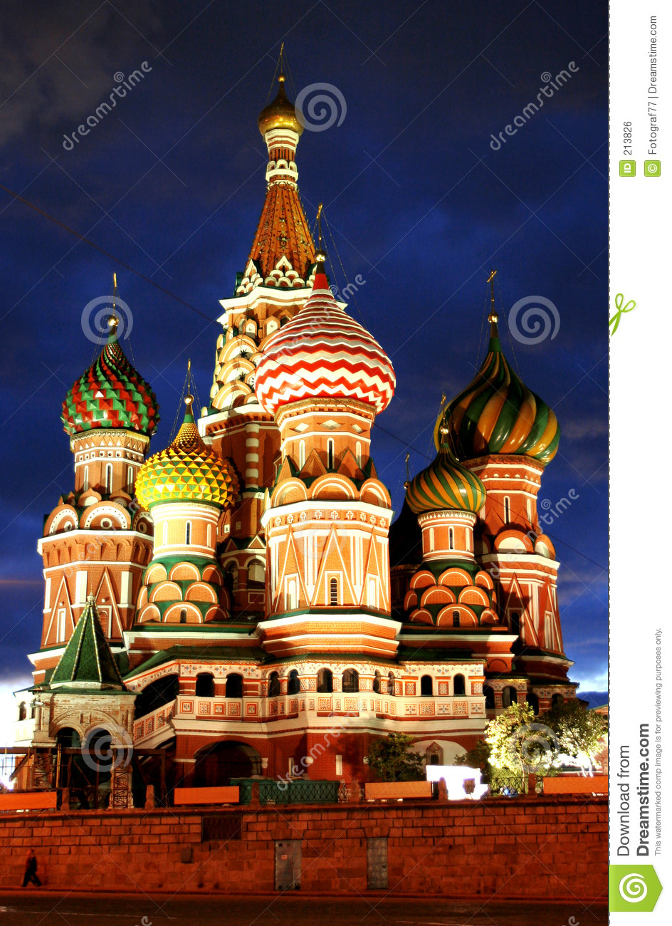 Moscow russia tempel